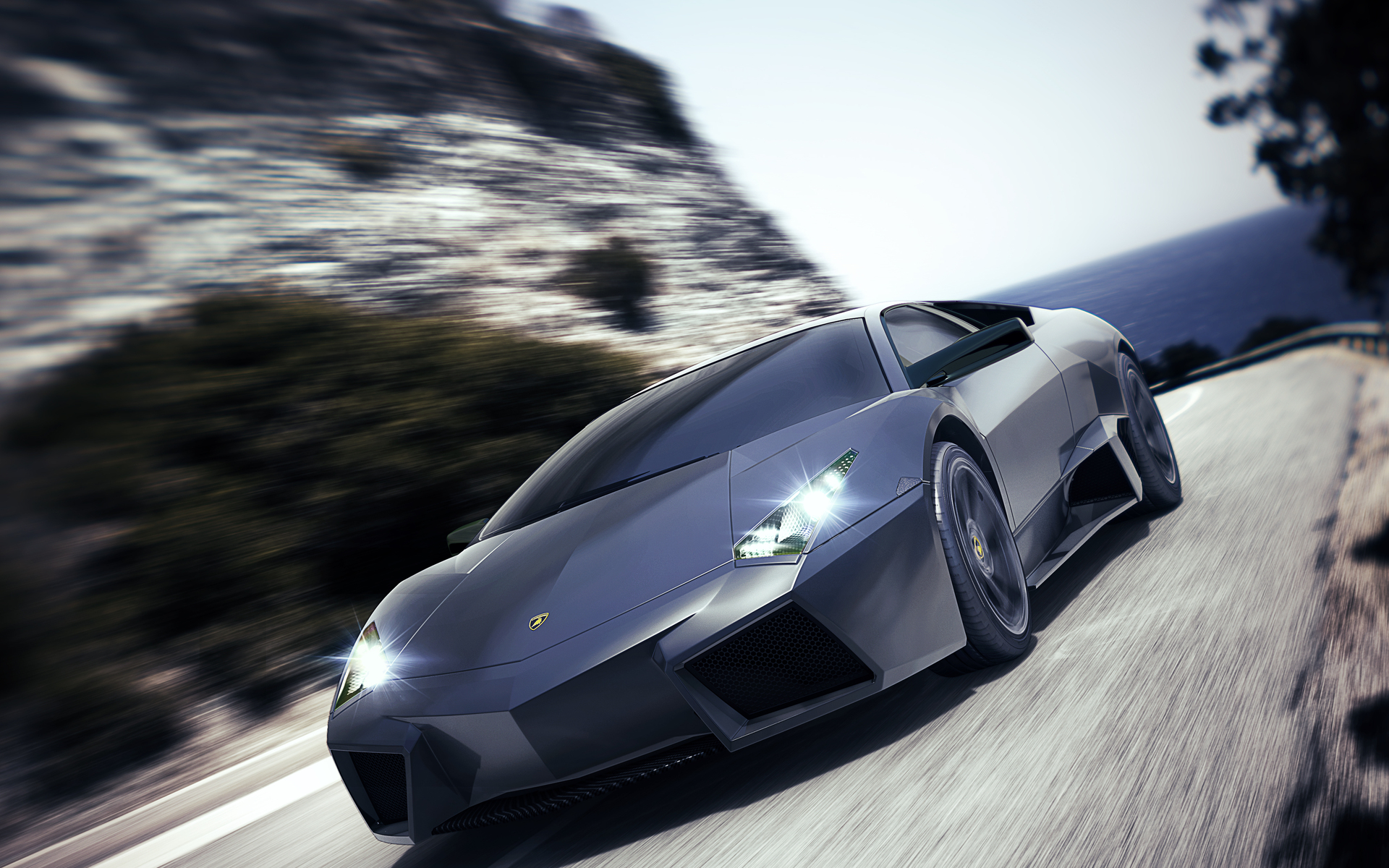 Full Hd Sports Car Wallpapers: New Lamborghini Reventon Sports Wallpaper
