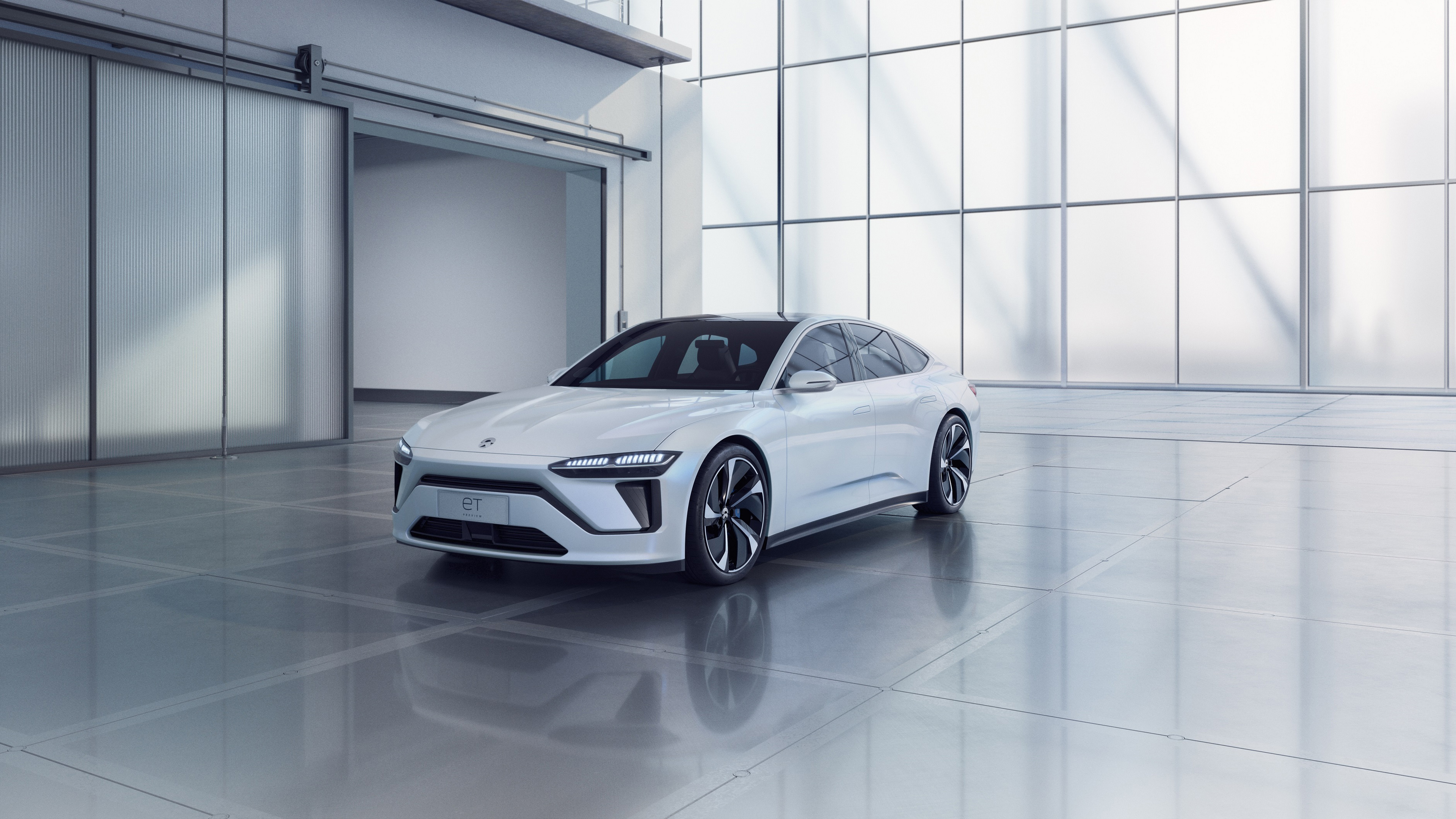 Nio Et Preview Electric Sedan 2019 4k Wallpaper Hd Car