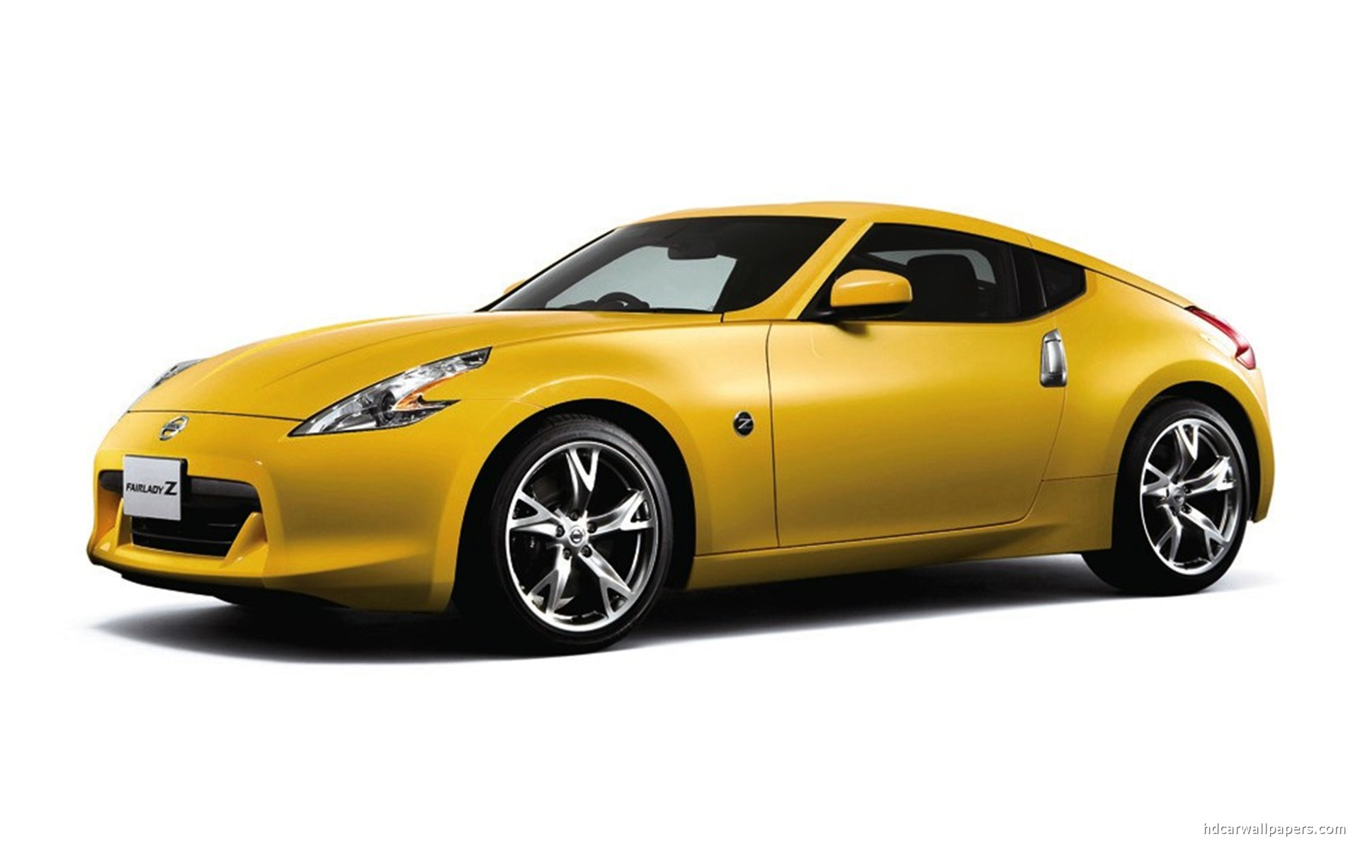 Nissan Fairlady Z Yellow Wallpaper Hd Car Wallpapers Id