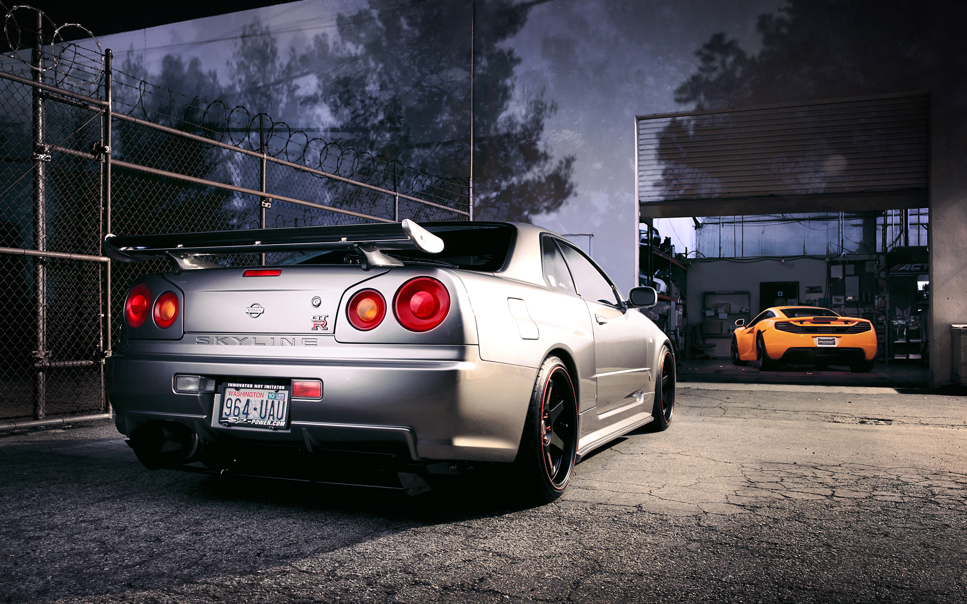 nissan r34 skyline gt r wallpaper | hd car wallpapers | id #3059