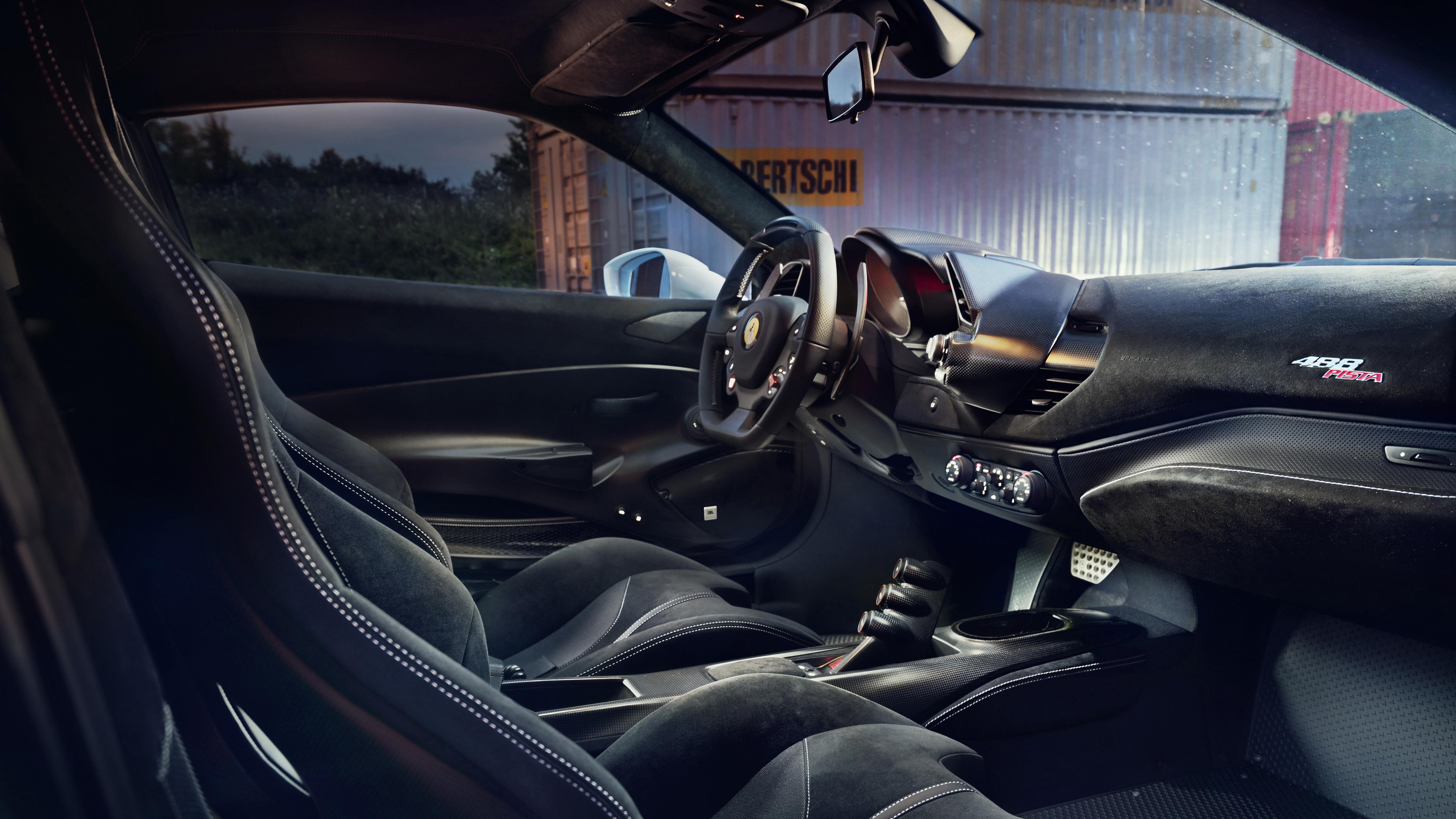 Novitec Ferrari 488 Pista 2019 4k Interior Wallpaper Hd Car Wallpapers Id 13008