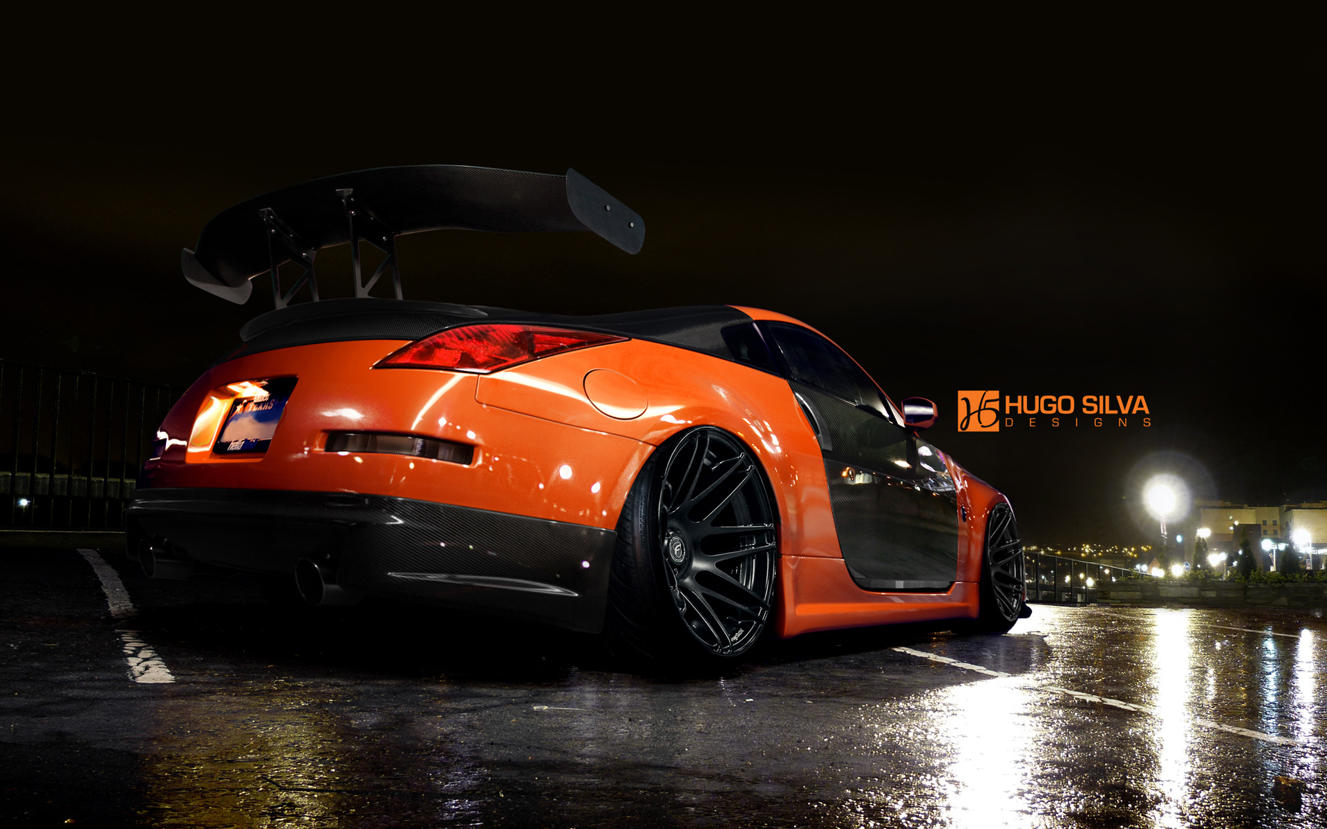 orange nissan 350z wallpaper hd car wallpapers id 4915. Black Bedroom Furniture Sets. Home Design Ideas