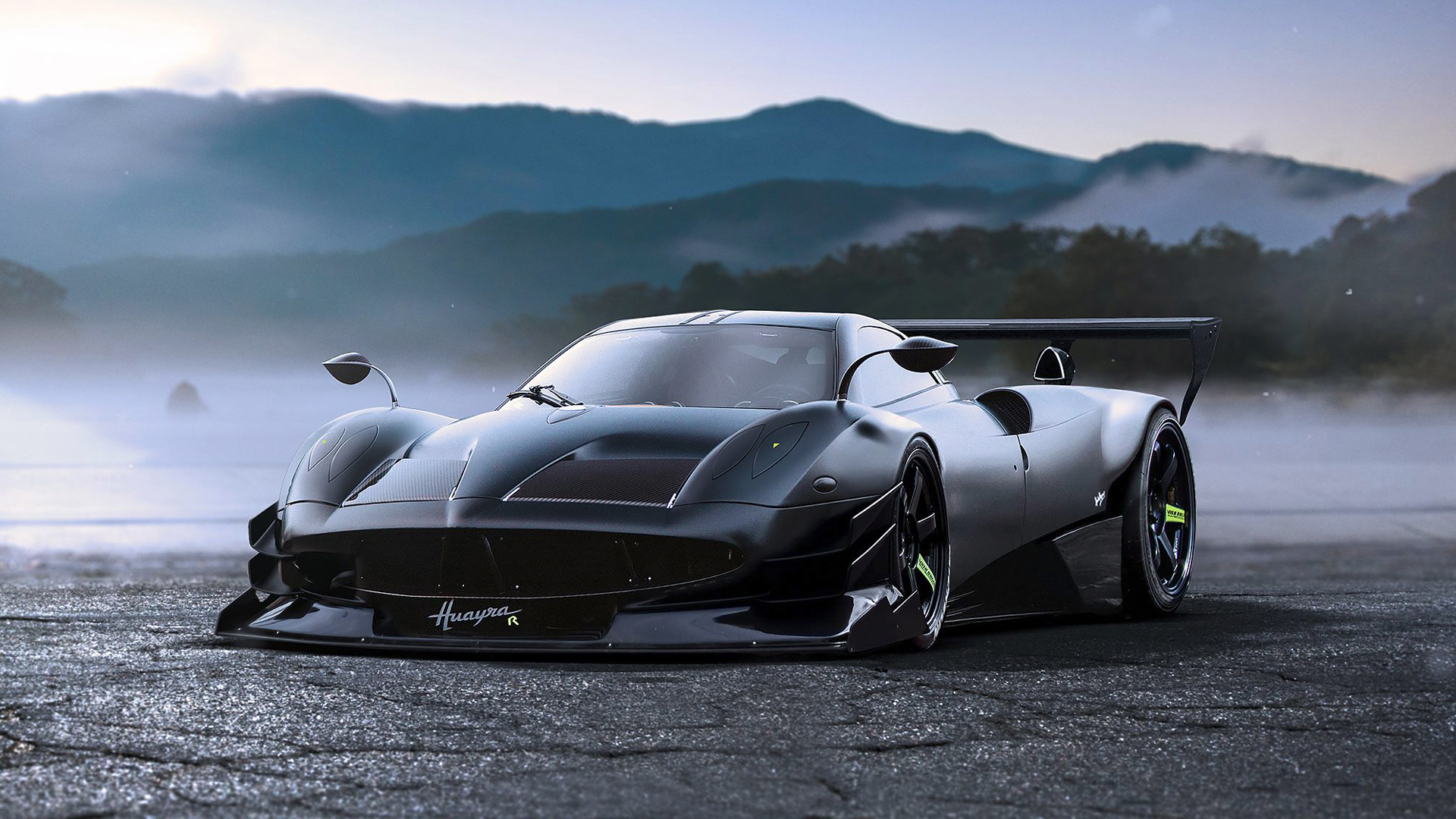 Pagani Huayra R Concept Wallpaper Hd Car Wallpapers Id