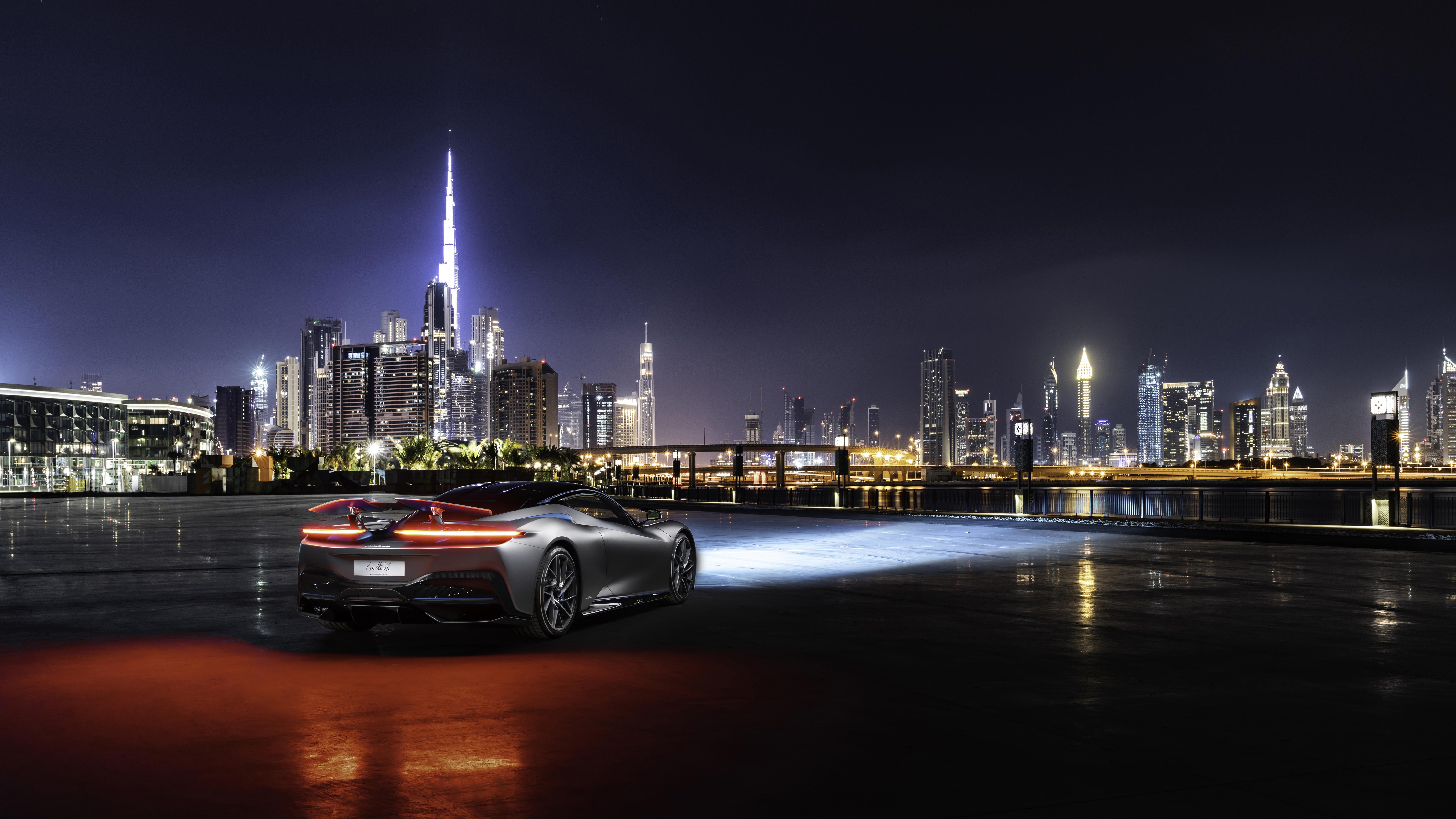 Pininfarina Battista 2019 Dubai 4k 8k Wallpaper Hd Car