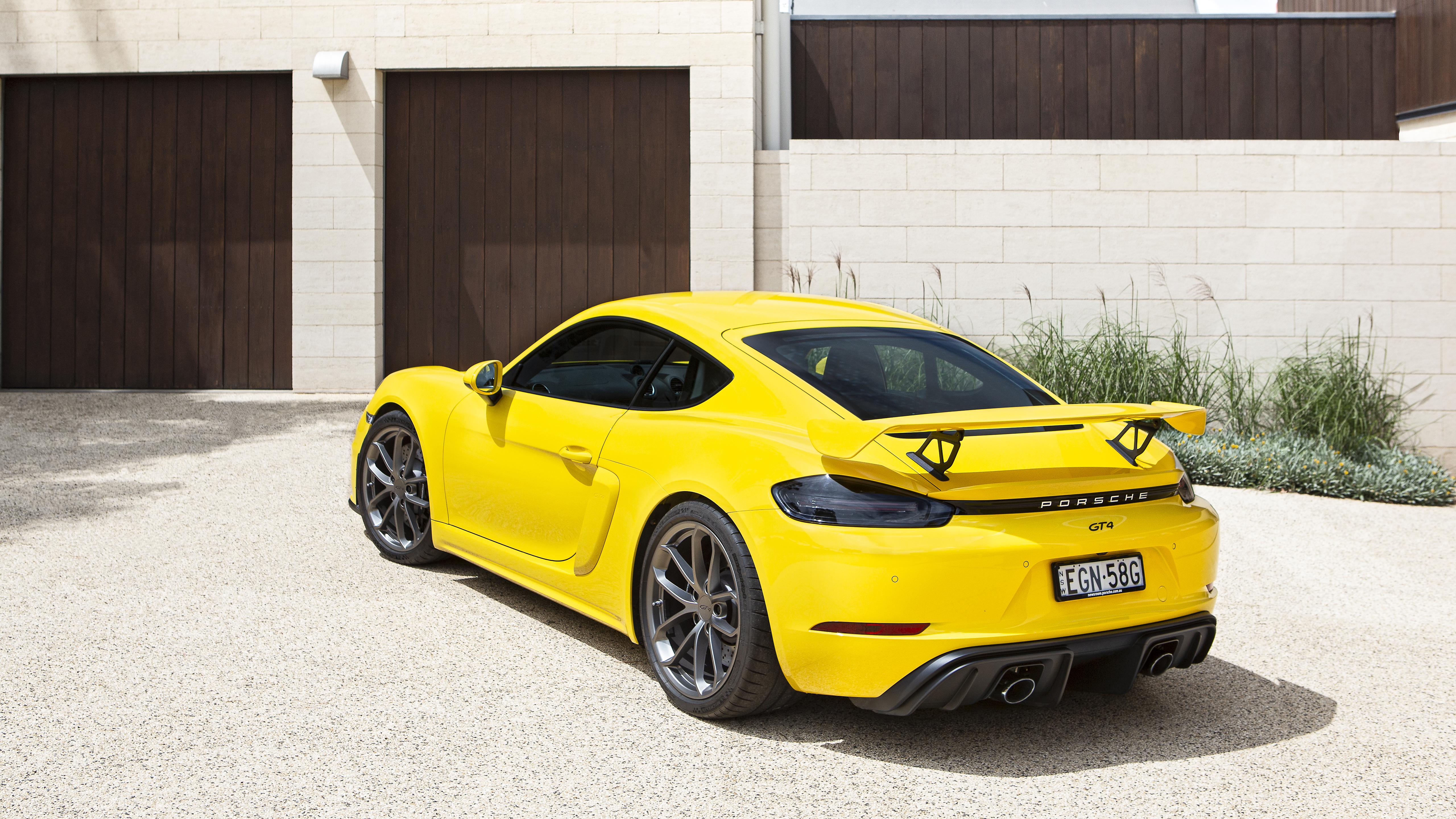 Porsche 718 Cayman Gt4 2020 5k 2 Wallpaper Hd Car Wallpapers Id 14810