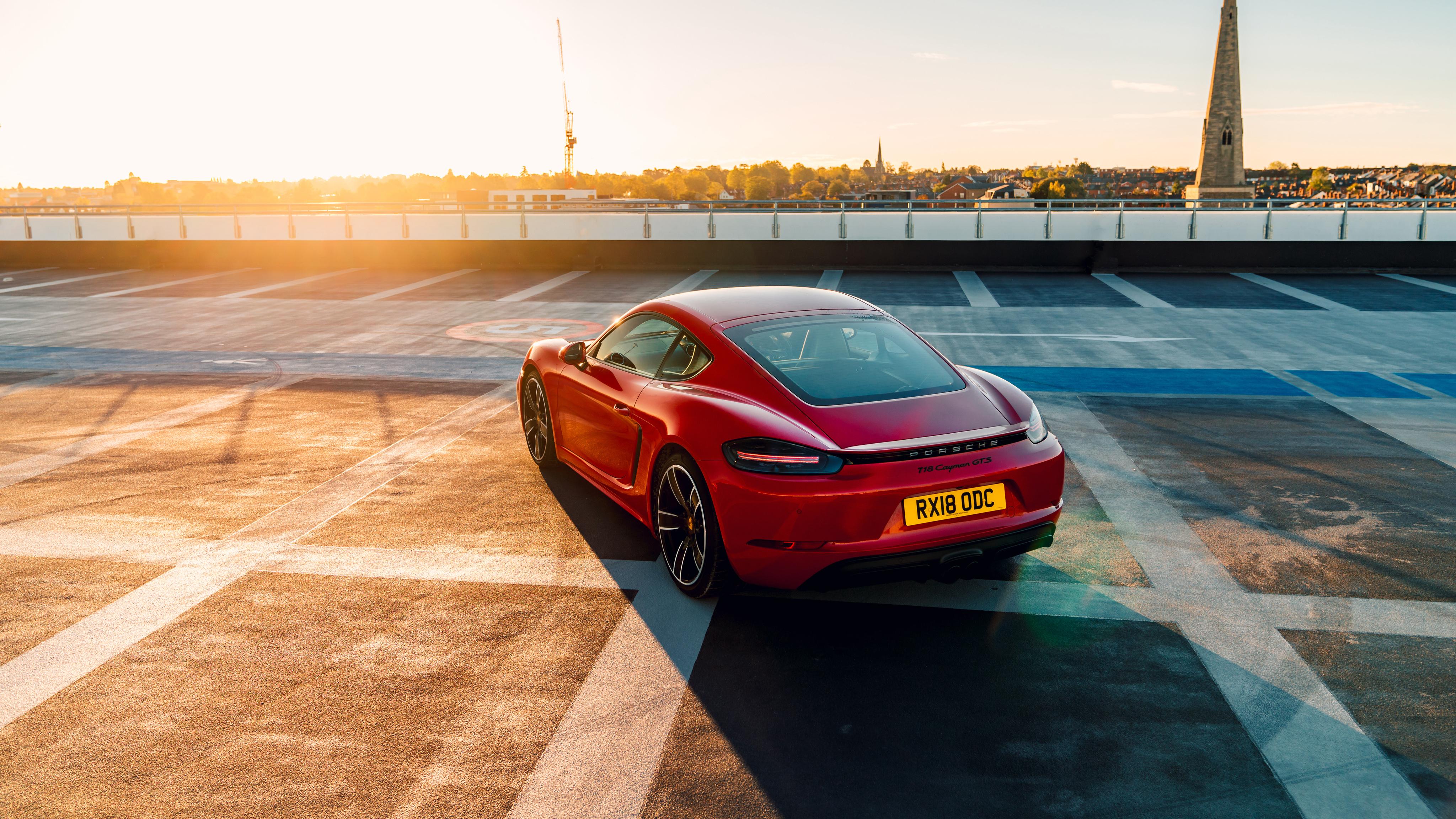 Porsche 718 Cayman Gts 2019 4k 2 Wallpaper Hd Car Wallpapers Id 11619