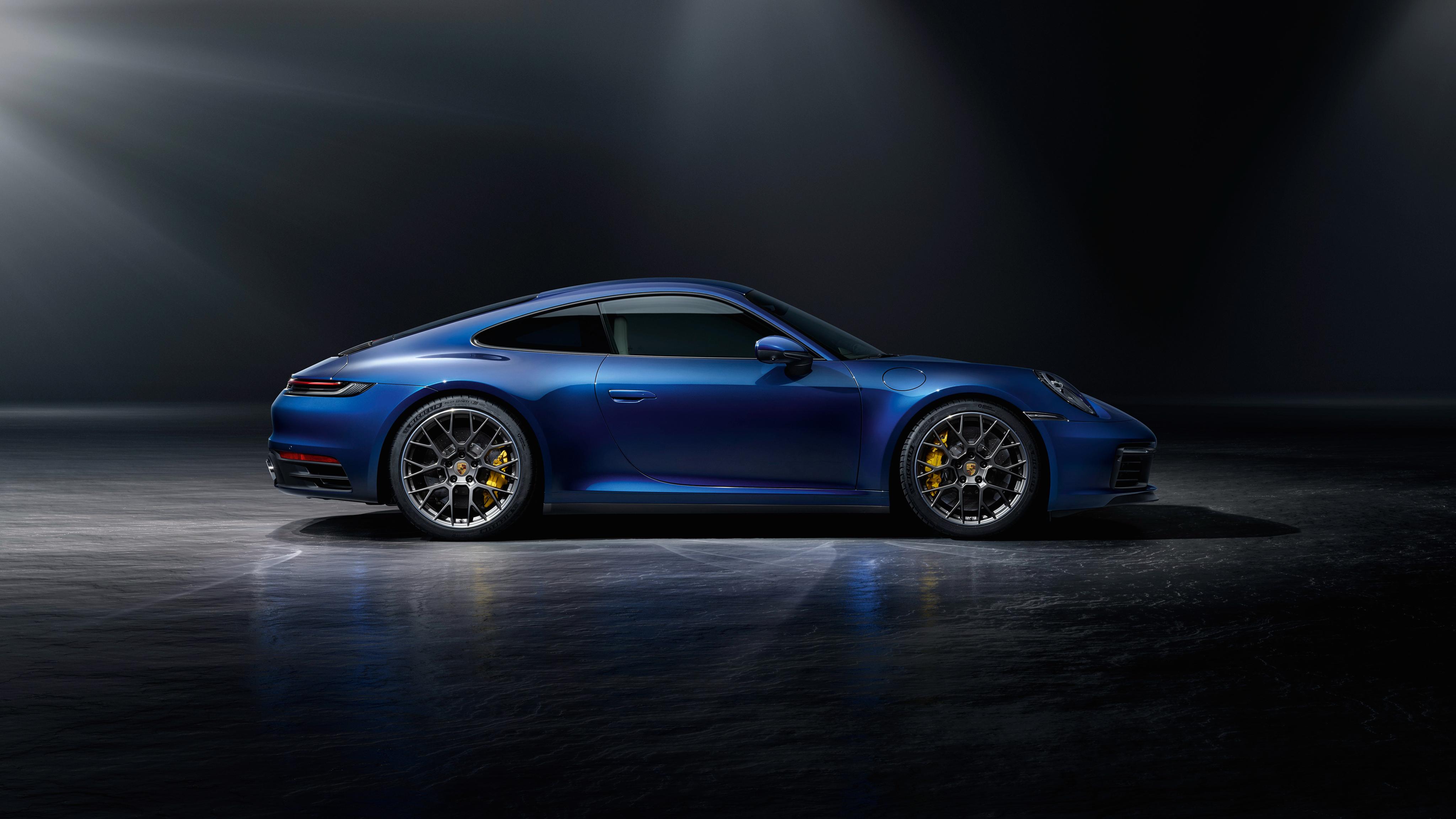 4k Porche Carrera Gt Wallpaper: Porsche 911 Carrera 4S 2019 4K 8 Wallpaper