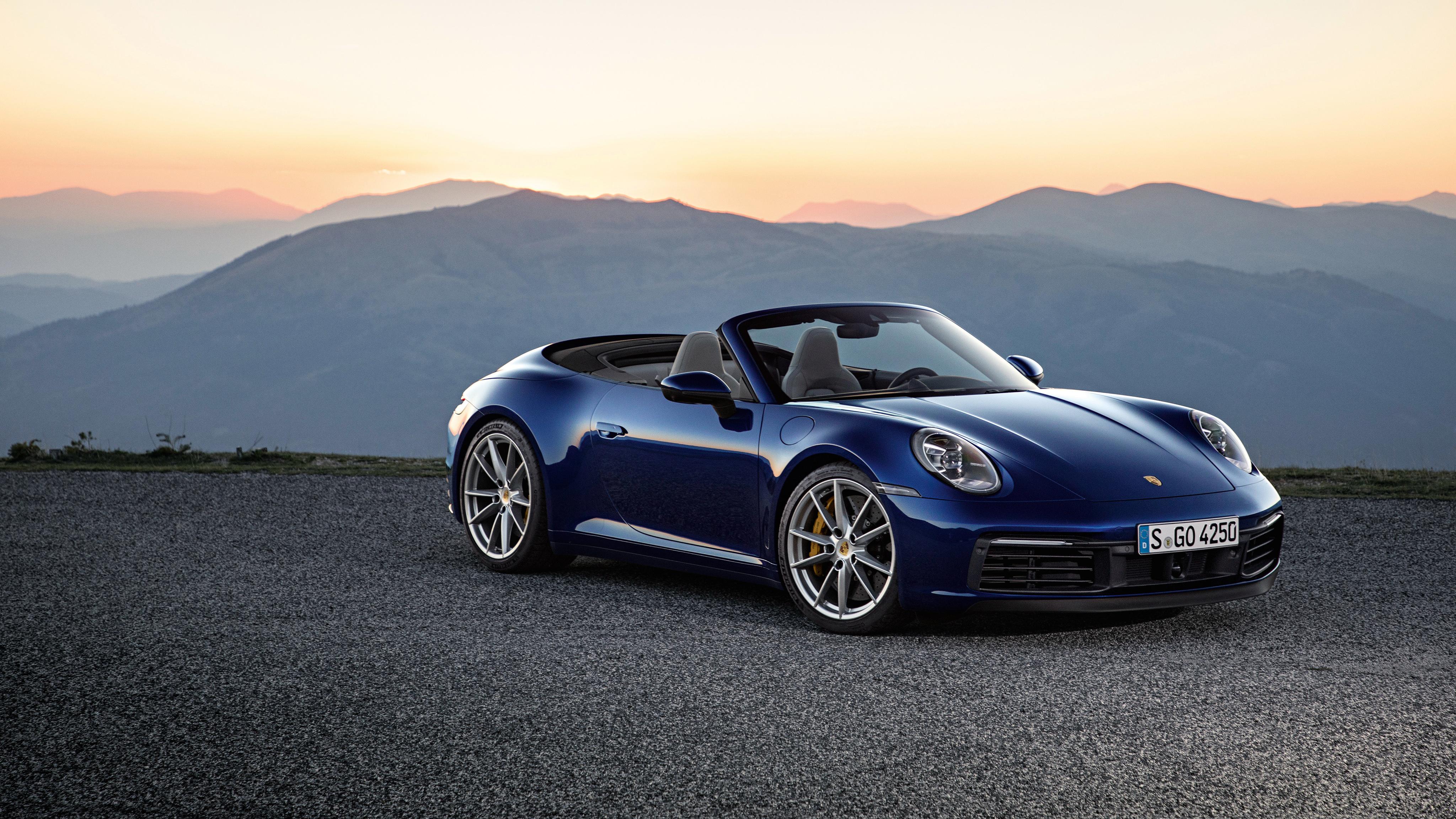 Porsche 911 carrera 4s cabriolet 2019 4k wallpaper hd - Porsche 911 carrera s wallpaper ...