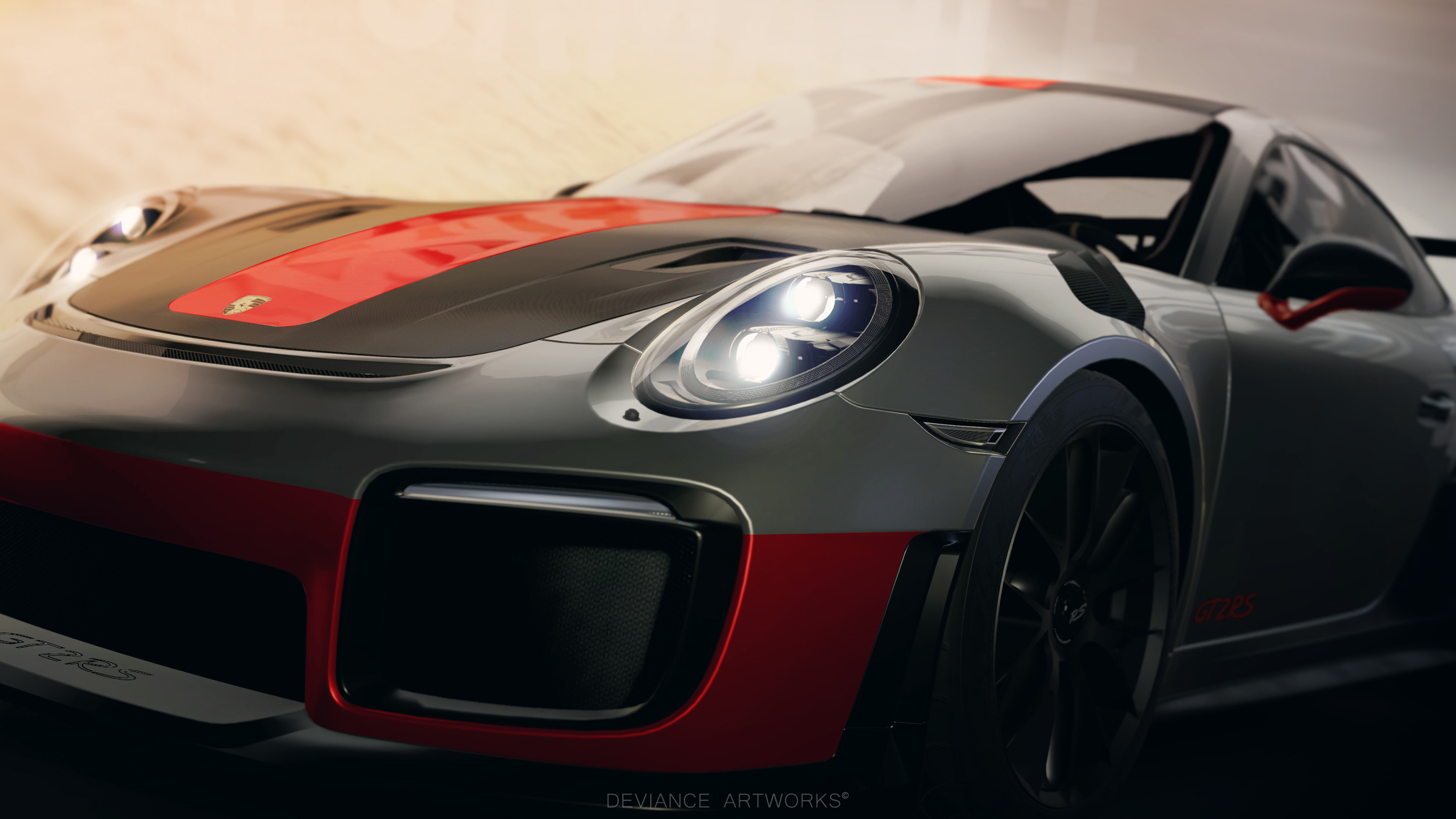 Forza Motorsport 7 Wallpapers Ultra Hd Gaming Backgrounds: Porsche 911 GT2 RS Forza Motorsport 7 Wallpaper