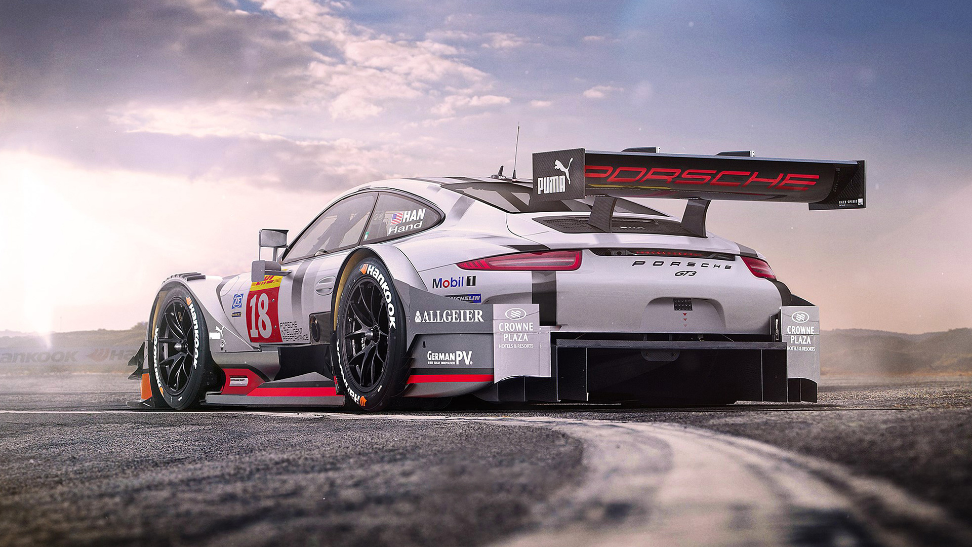 Cars Porsche 911 GT3 R Race Car 2010 Free Desktop Wallpaper s