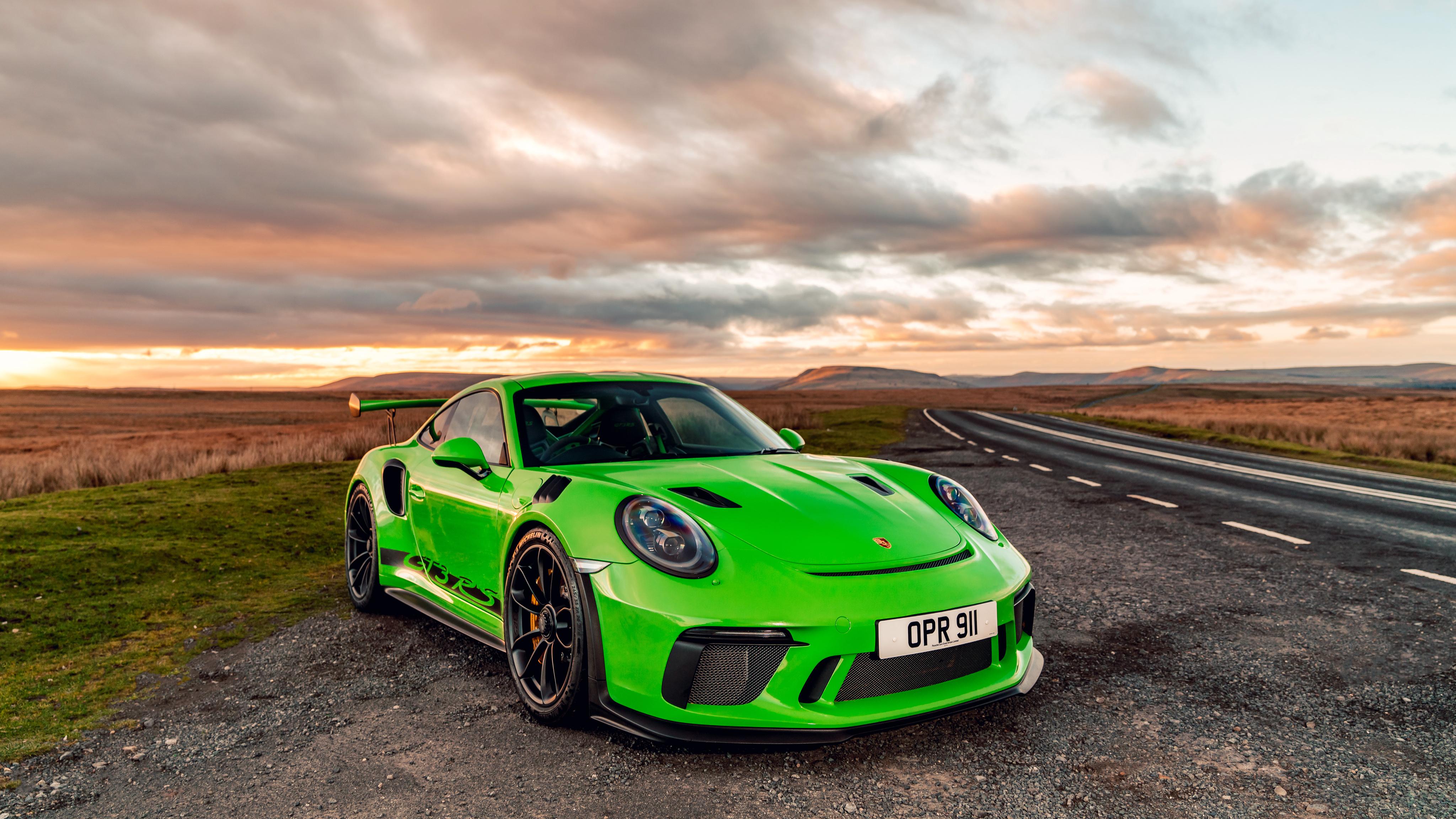 Sport Wallpaper Porsche 911: Porsche 911 GT3 RS 2019 4K Wallpaper