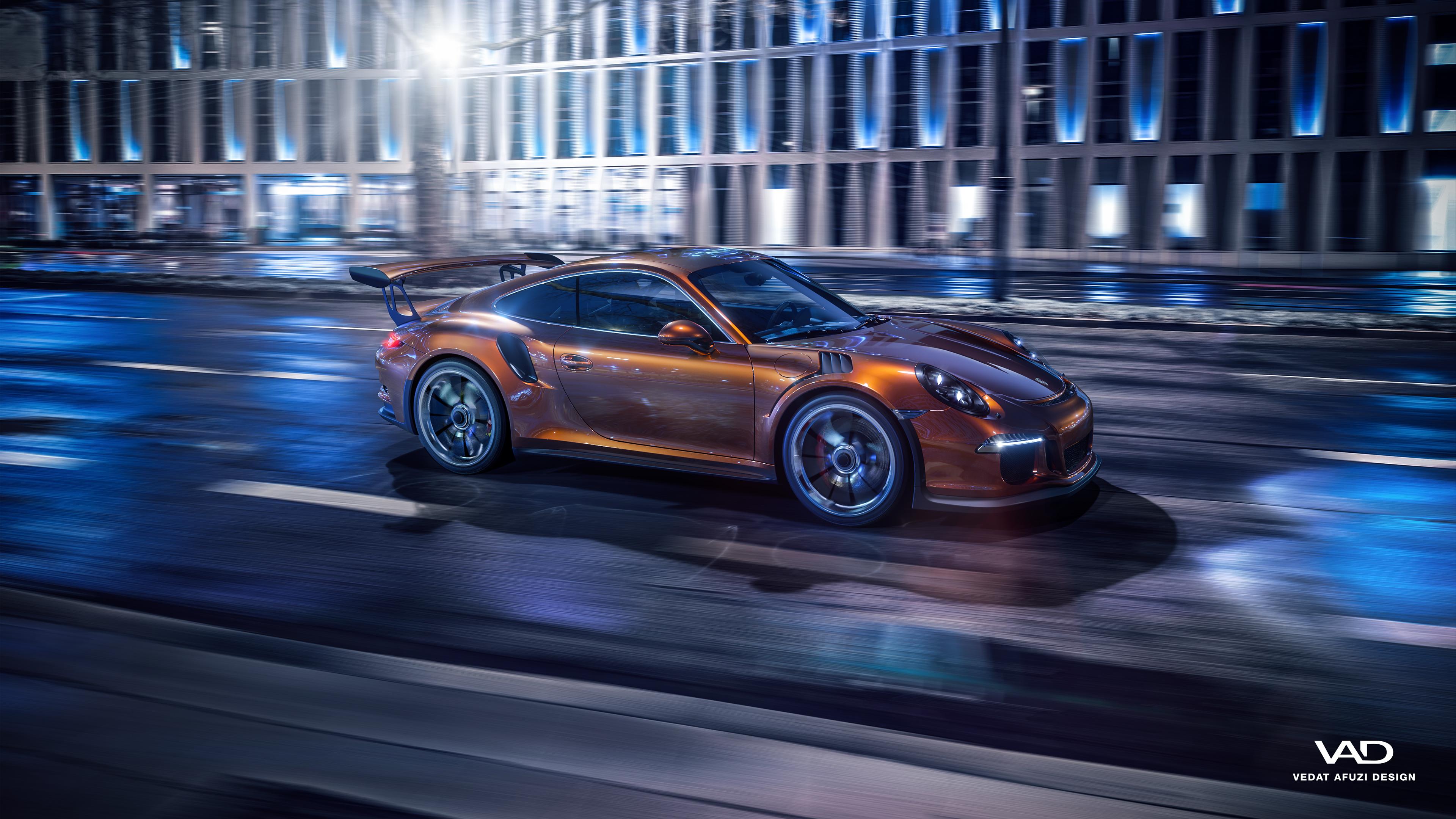Porsche 911 GT3 RS 4K Wallpaper
