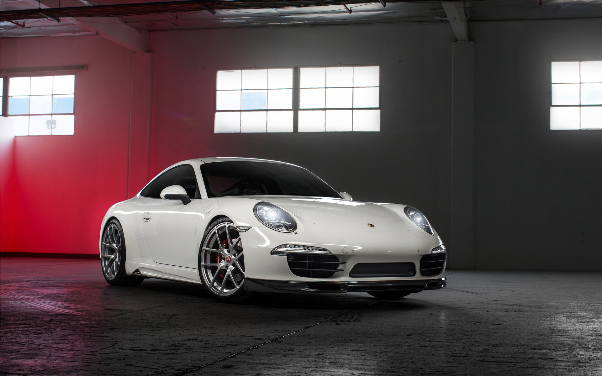 Porsche 911 on Vorsteiner Wheels