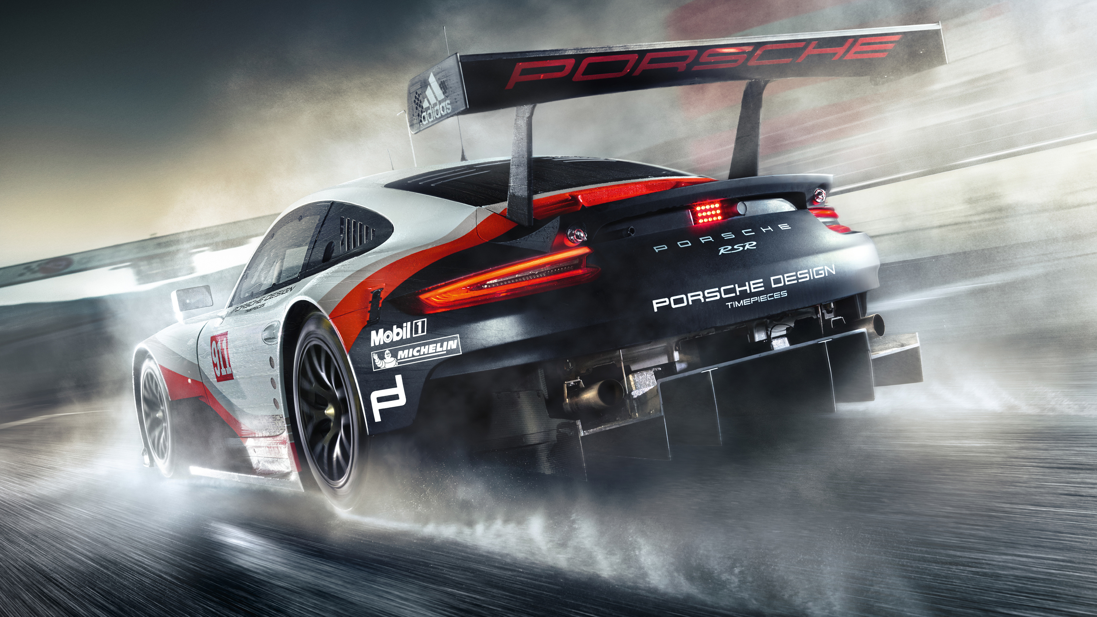 Porsche 911 RSR Porsche Design 4K Wallpaper