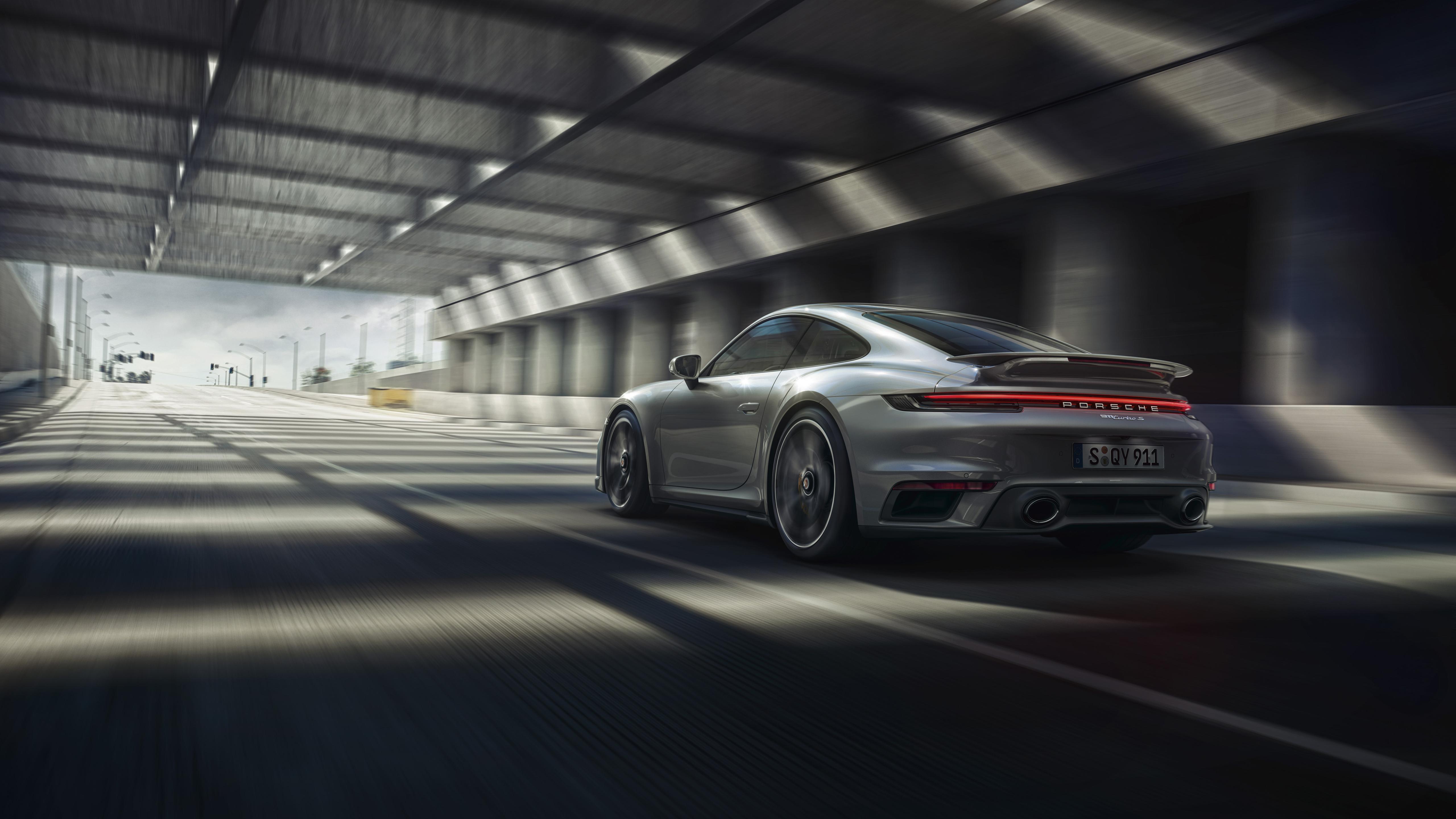 Porsche 911 Turbo S 2020 5k 4 Wallpaper Hd Car Wallpapers Id 14599