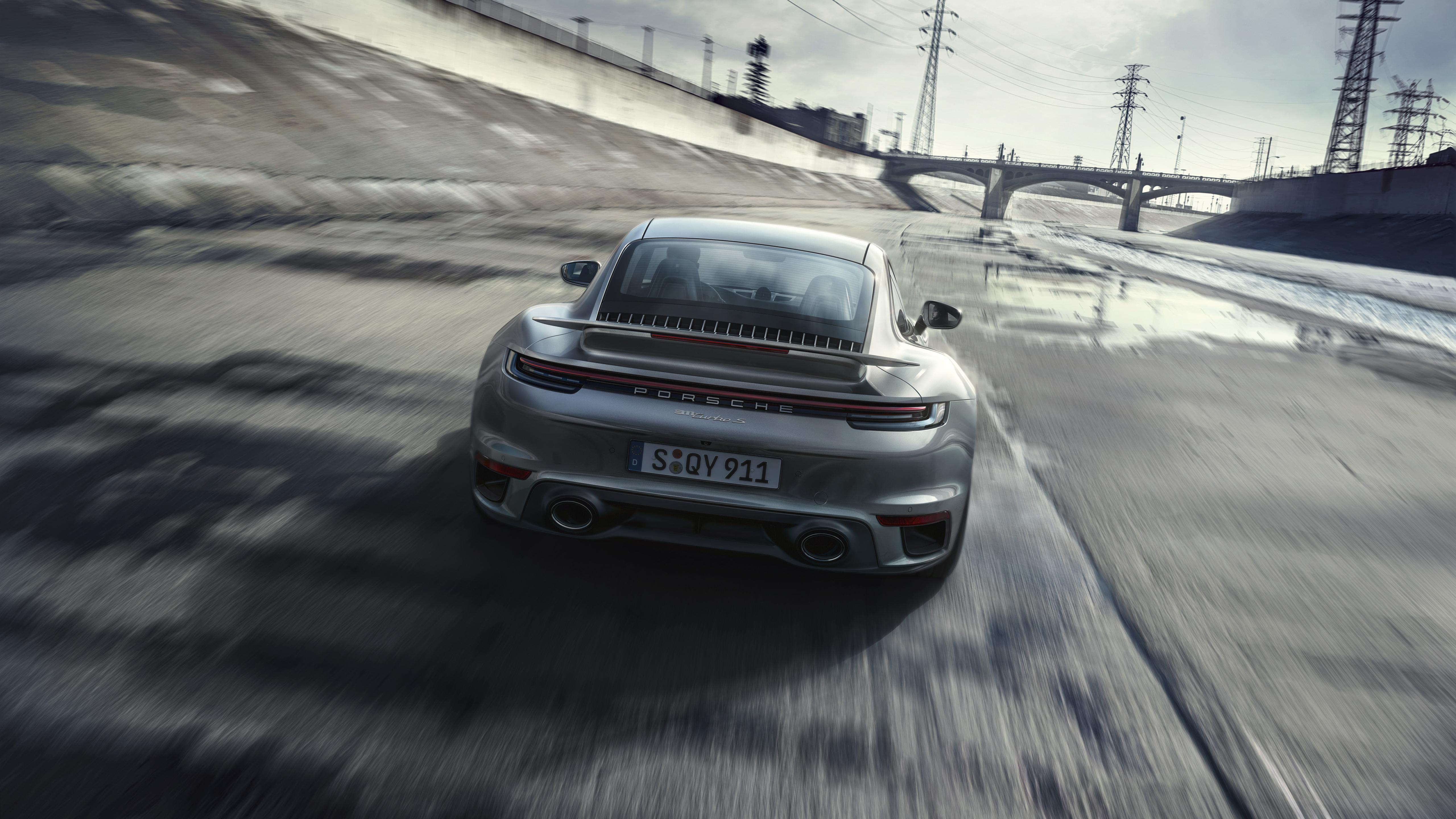 Porsche 911 Turbo S 2020 5k 7 Wallpaper Hd Car Wallpapers Id 14591