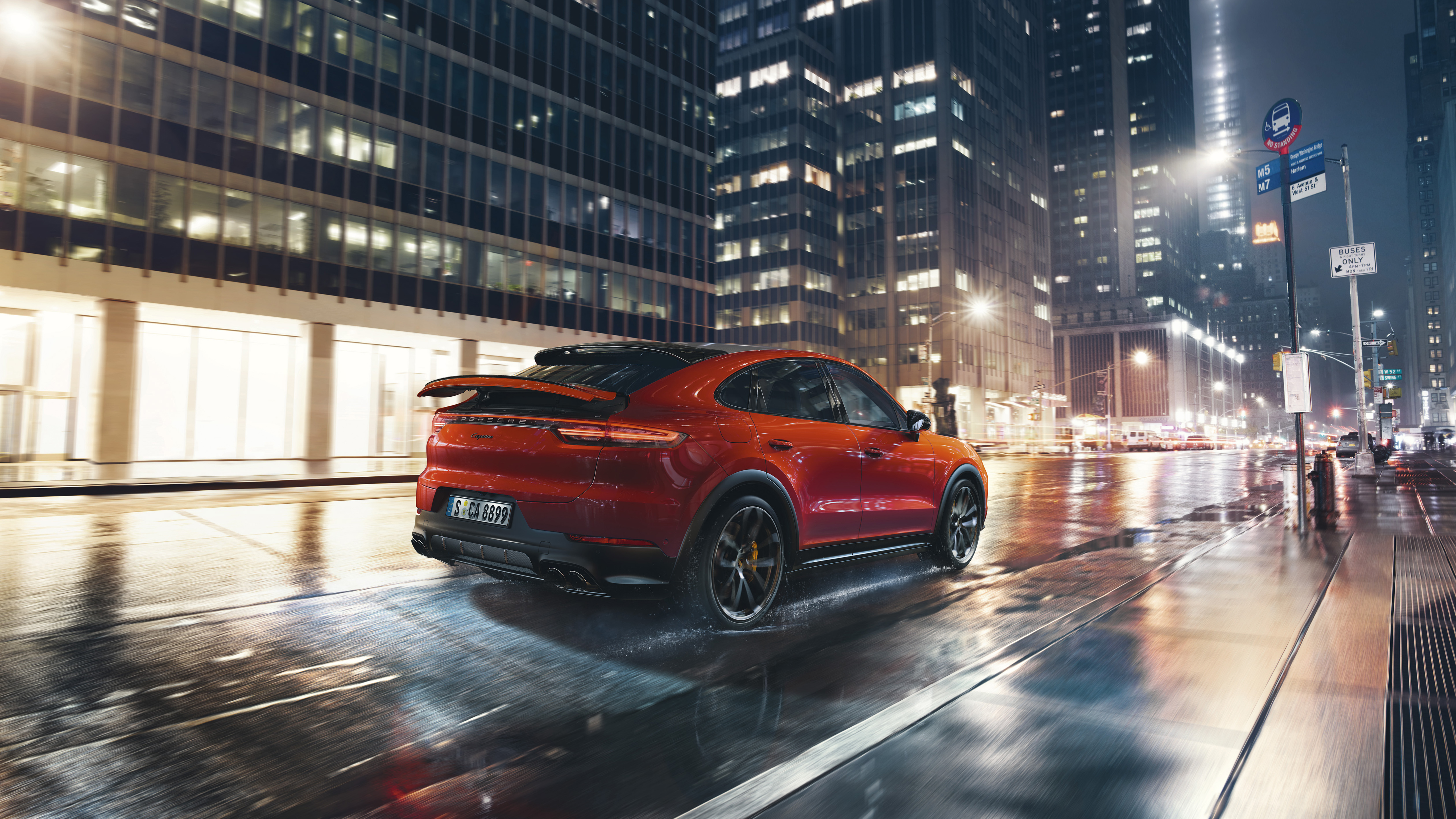 Porsche Cayenne Coupe 2019 4K 4 Wallpaper