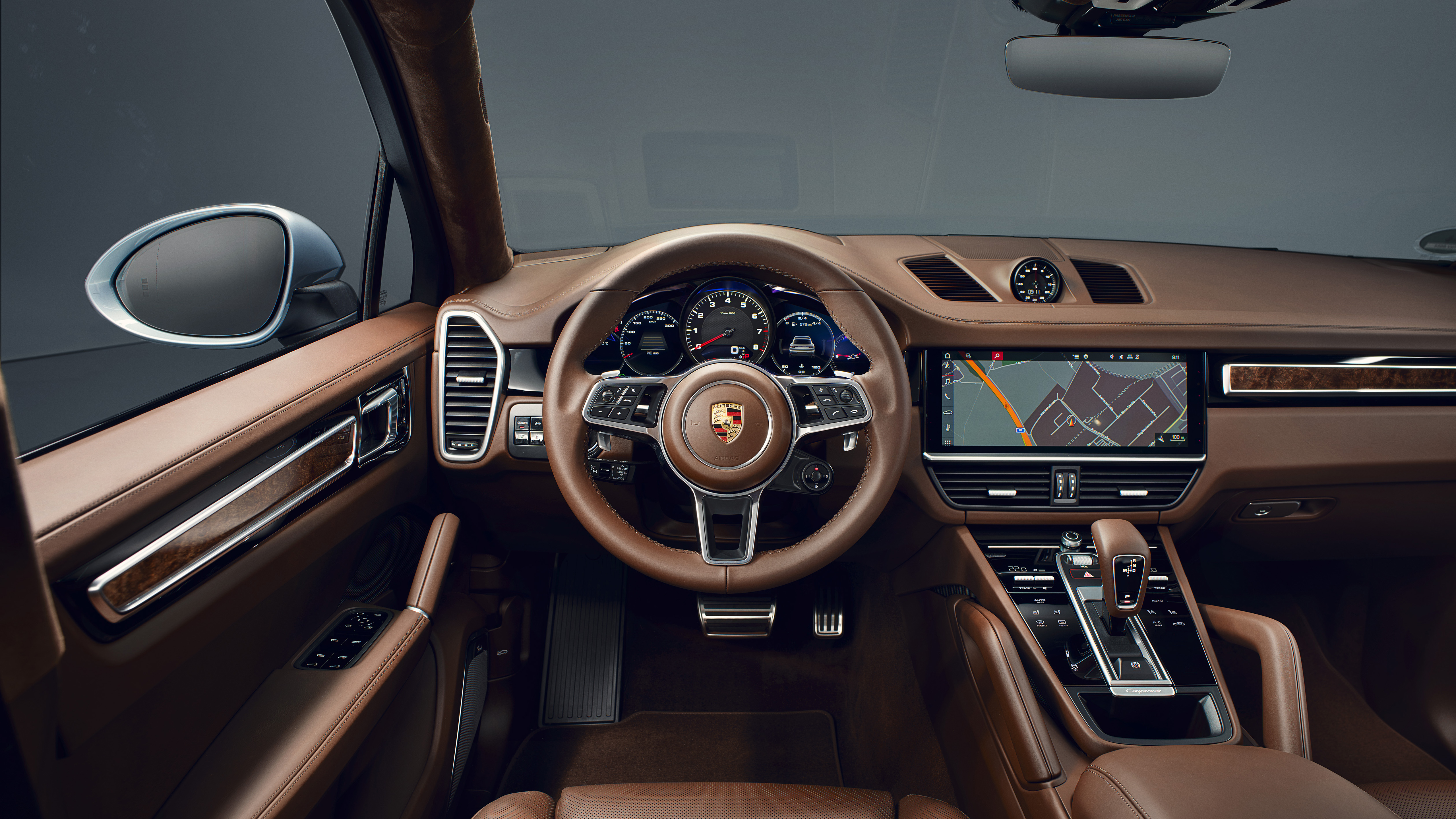 Porsche Cayenne S Coupe 2019 Interior 5k Wallpaper Hd Car Wallpapers Id 12564