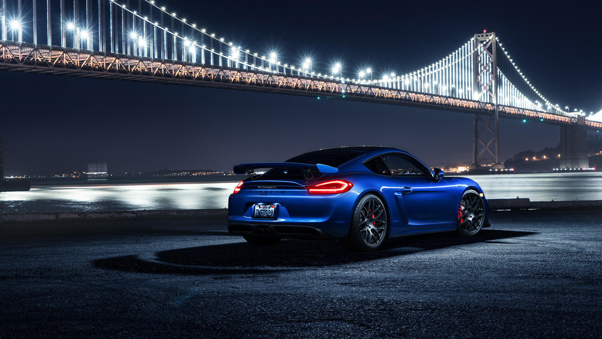 Porsche Cayman GT4 Avant Garde Wheels 2 Wallpaper