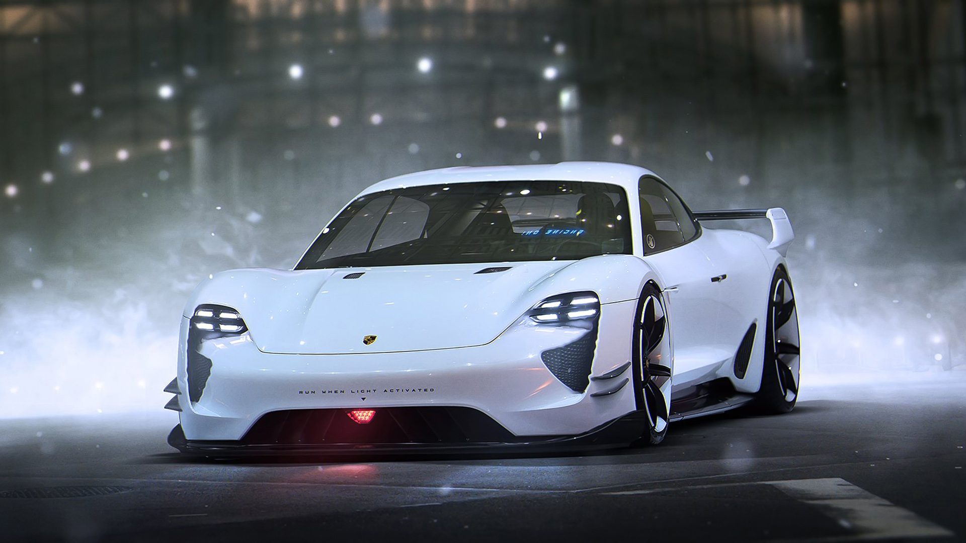 Porsche Mission E Concept Wallpaper  HD Car Wallpapers