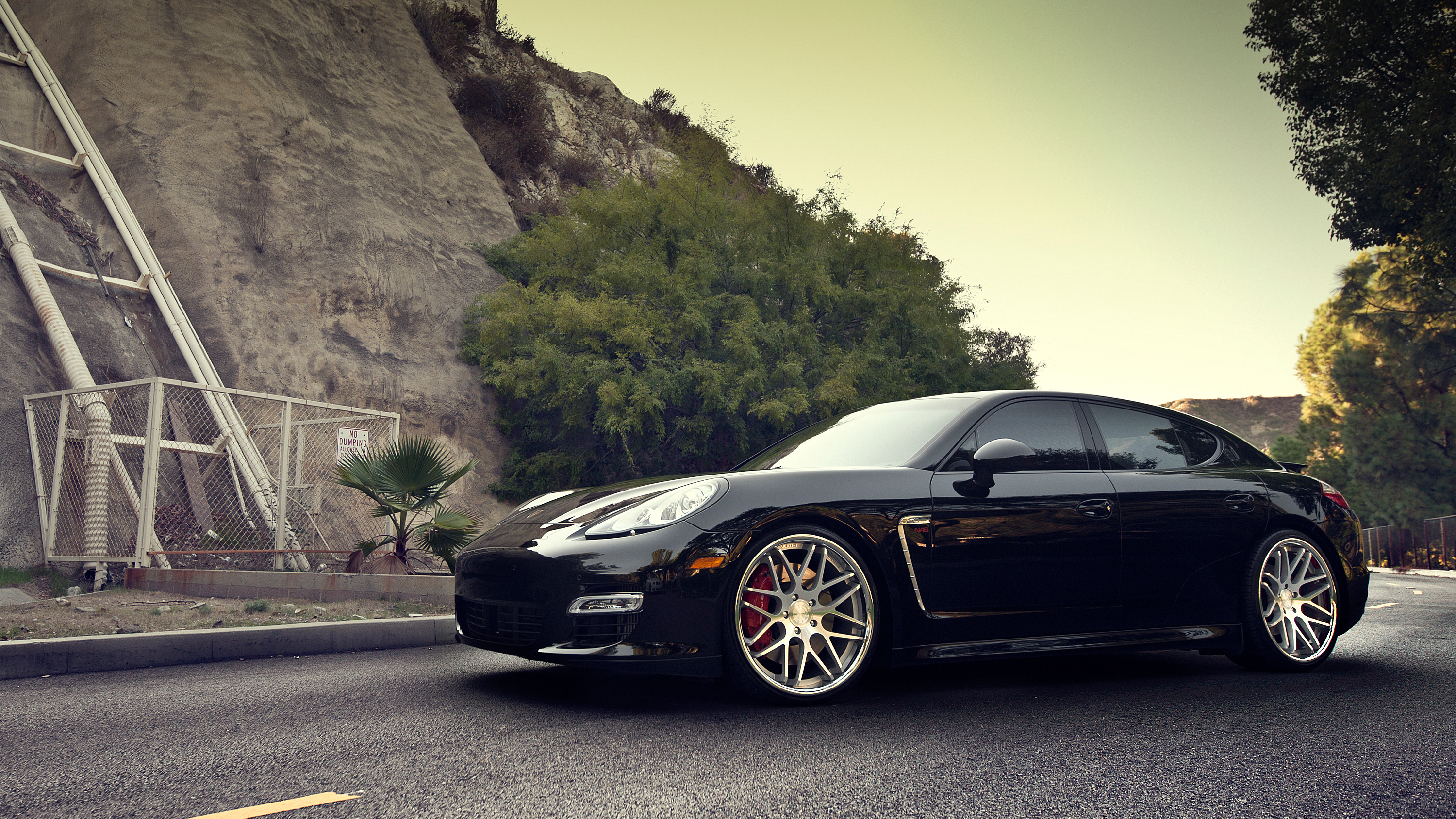 Porsche Panamera Turbo S on ADV1 Wallpaper | HD Car Wallpapers