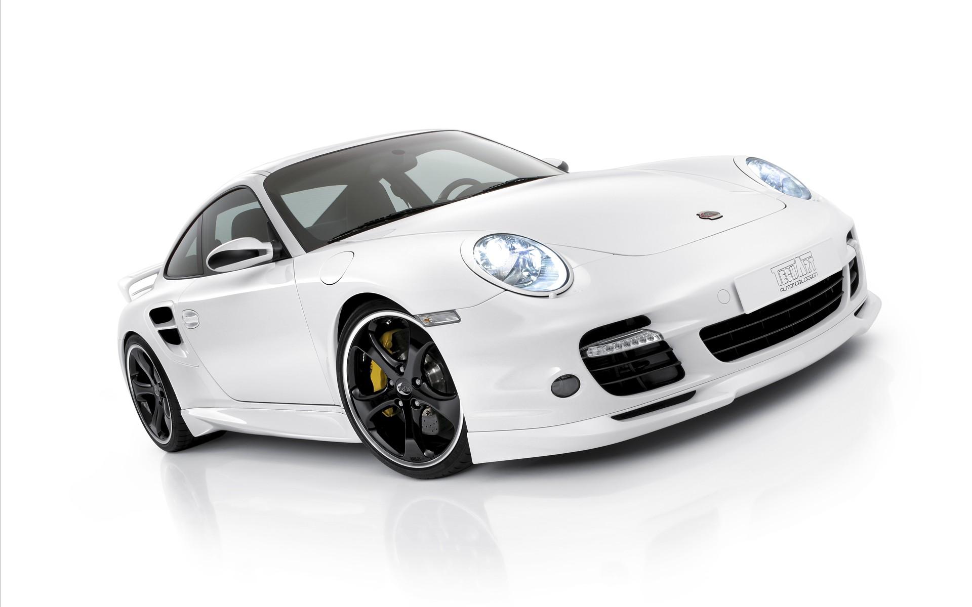Porsche techart design white wallpaper hd car wallpapers - Car wallpaper black and white ...