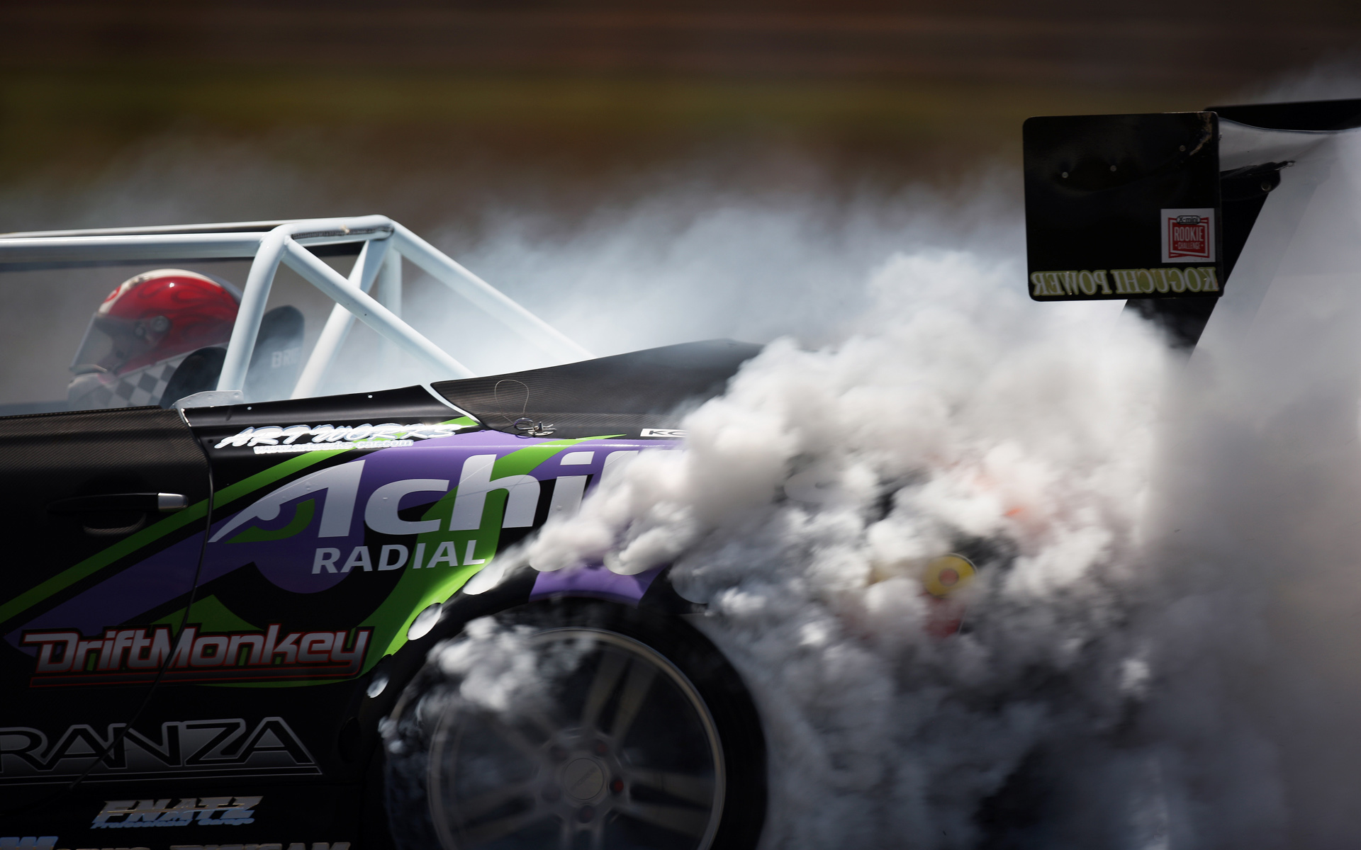 Racing Smoke Wallpaper Hd Car Wallpapers Id 2772
