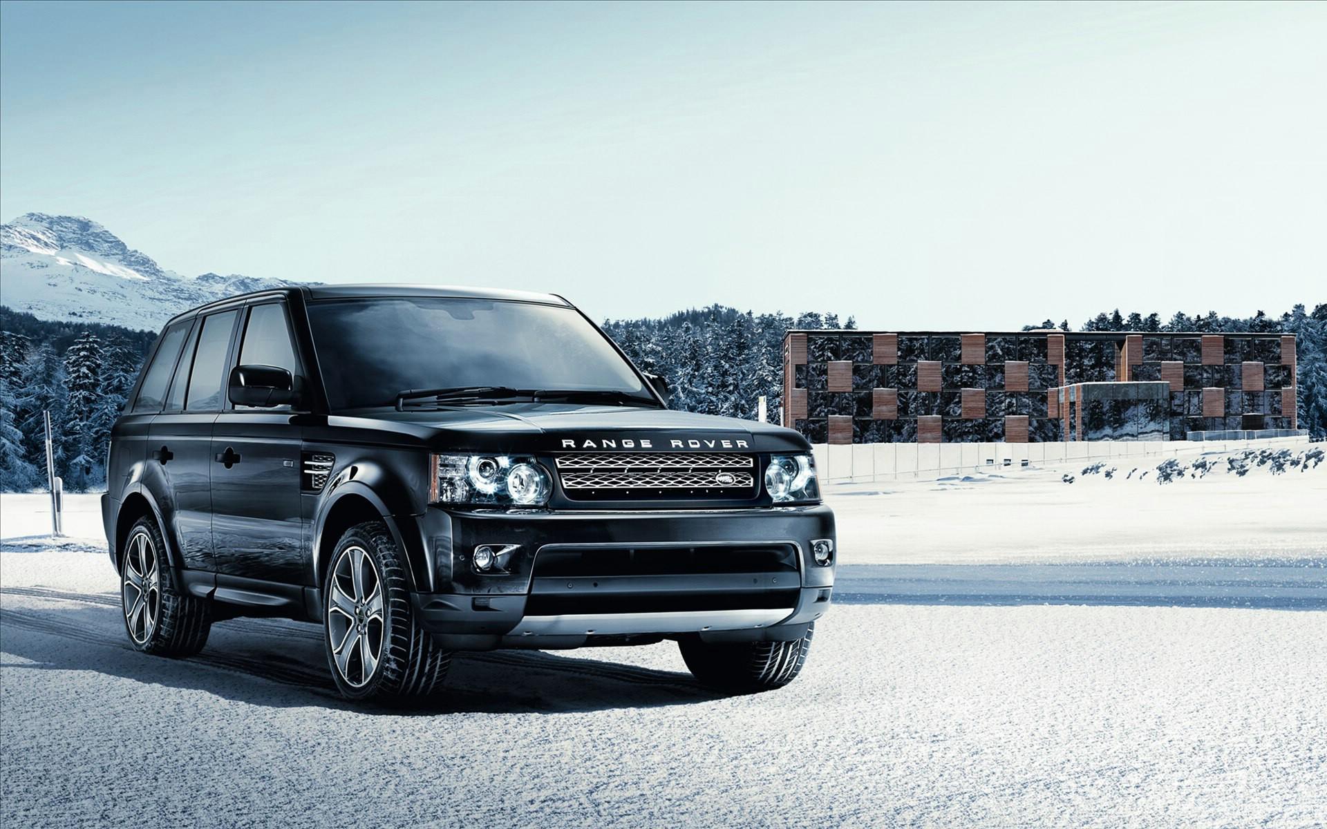Range Rover Sport Black Wallpaper: Range Rover Sport 2012 Wallpaper