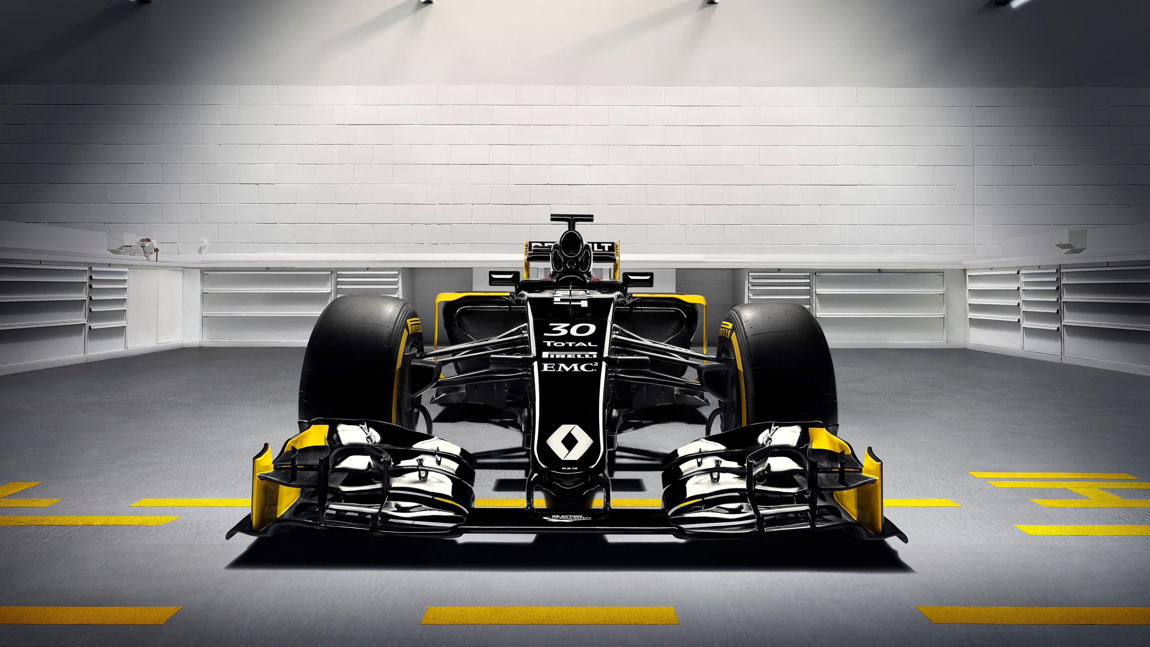 Renault RS16 2016 Formula 1 Car Wallpaper
