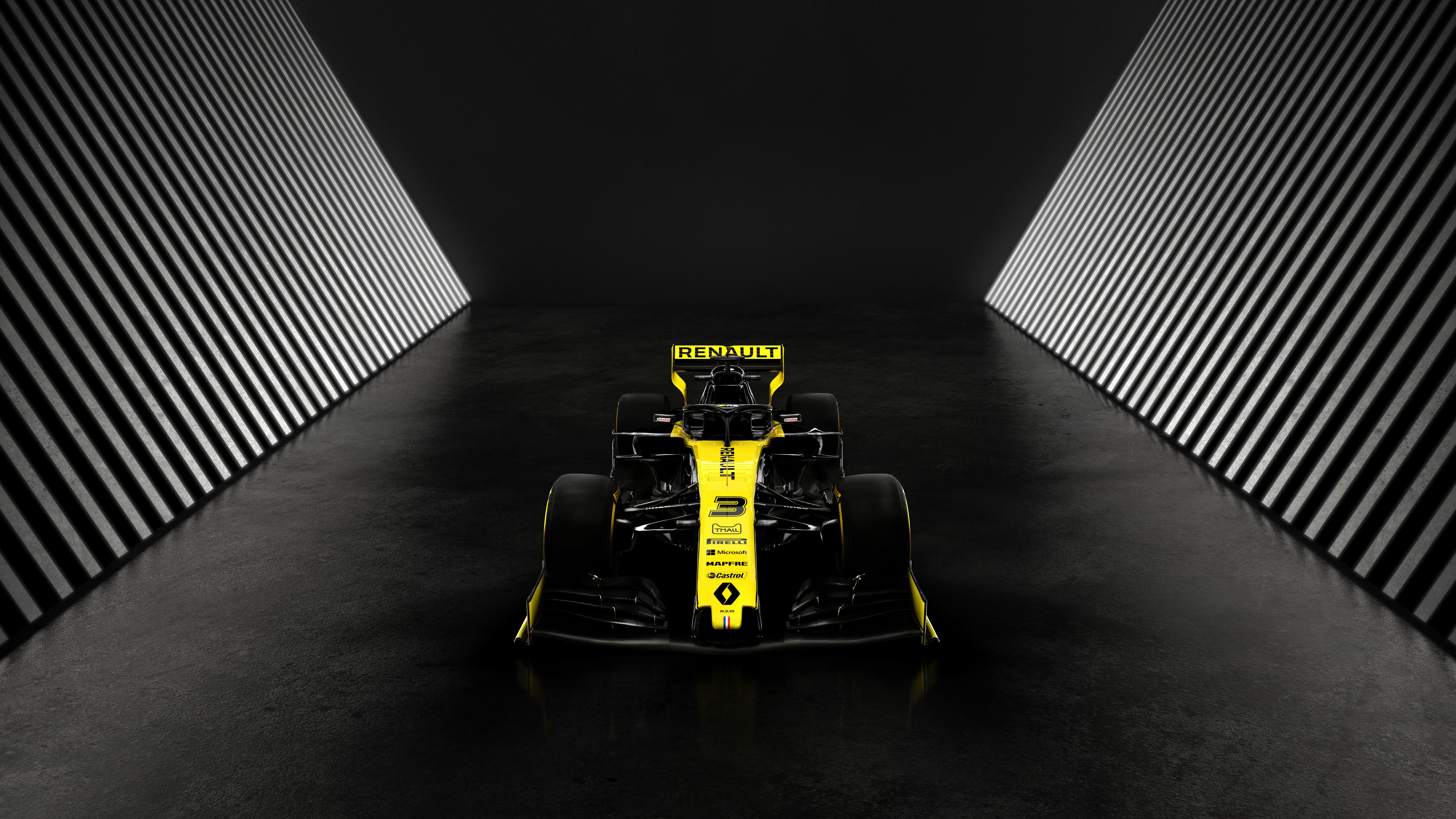 Renault Rs19 Formula 1 2019 4k 8k 3 Wallpaper Hd Car