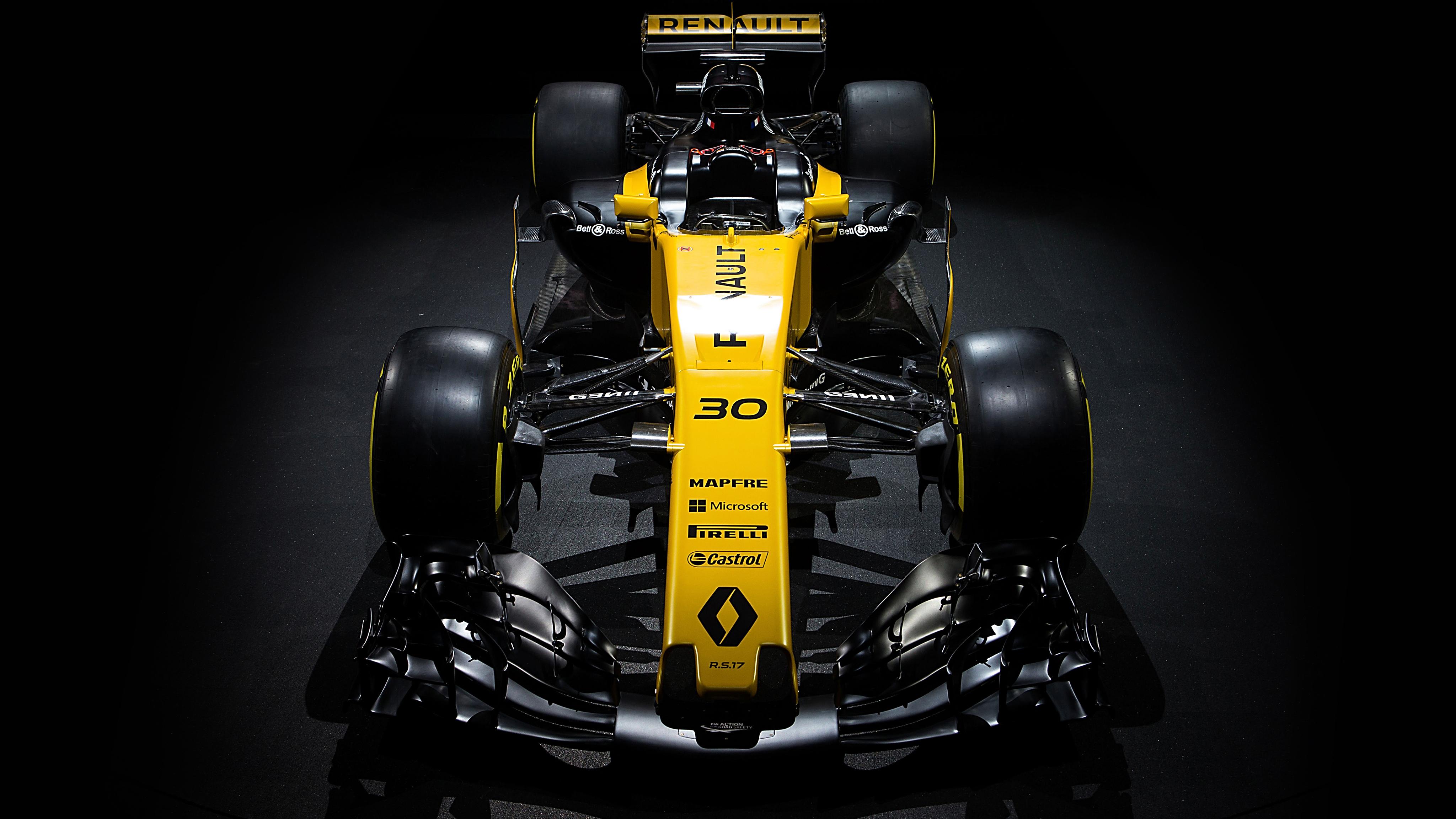 Renault Sport Formula One Car RS 17 4K Wallpaper | HD Car ...