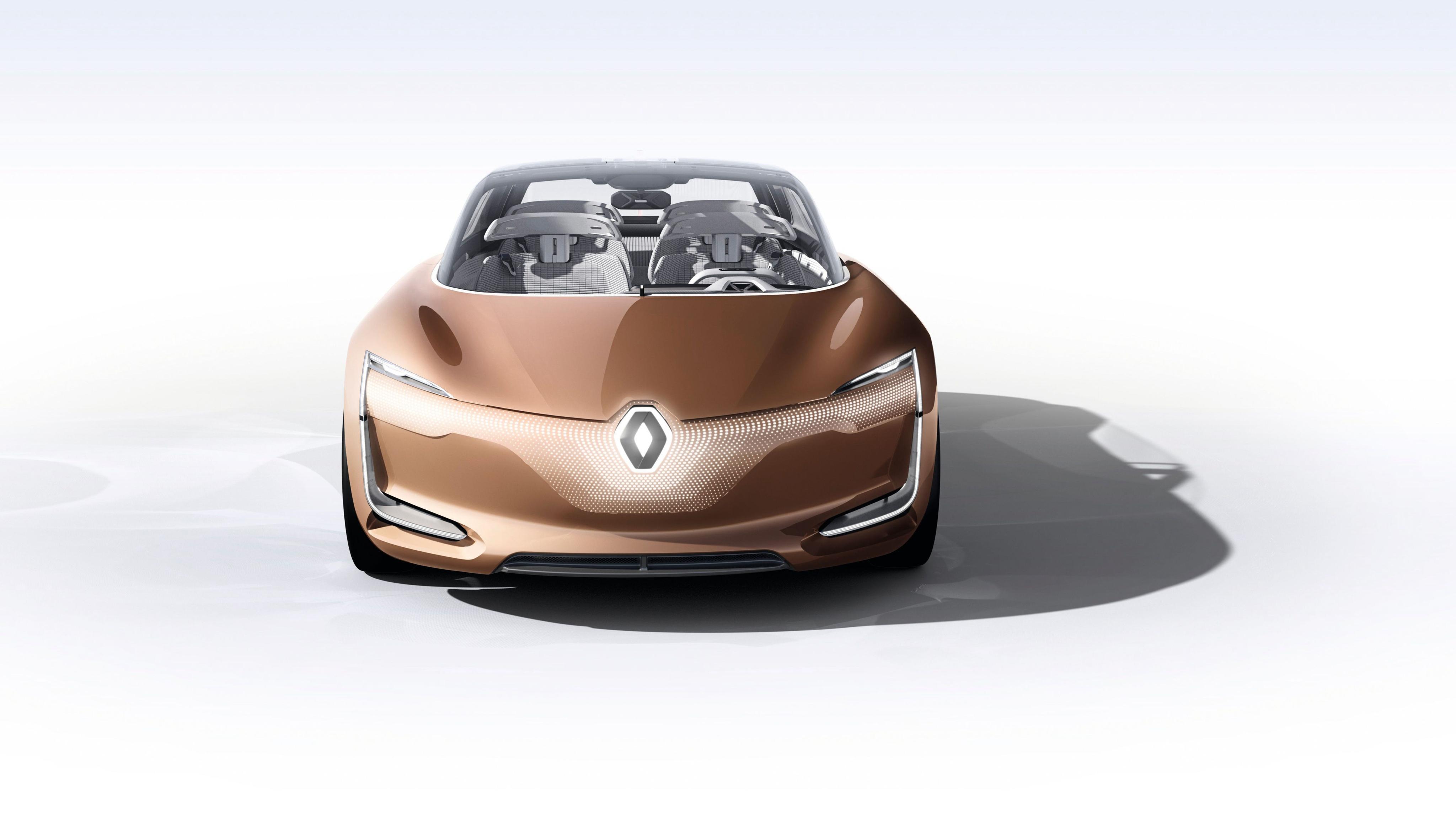 Renault Symbioz Autonomous Electric Car 4K Wallpaper