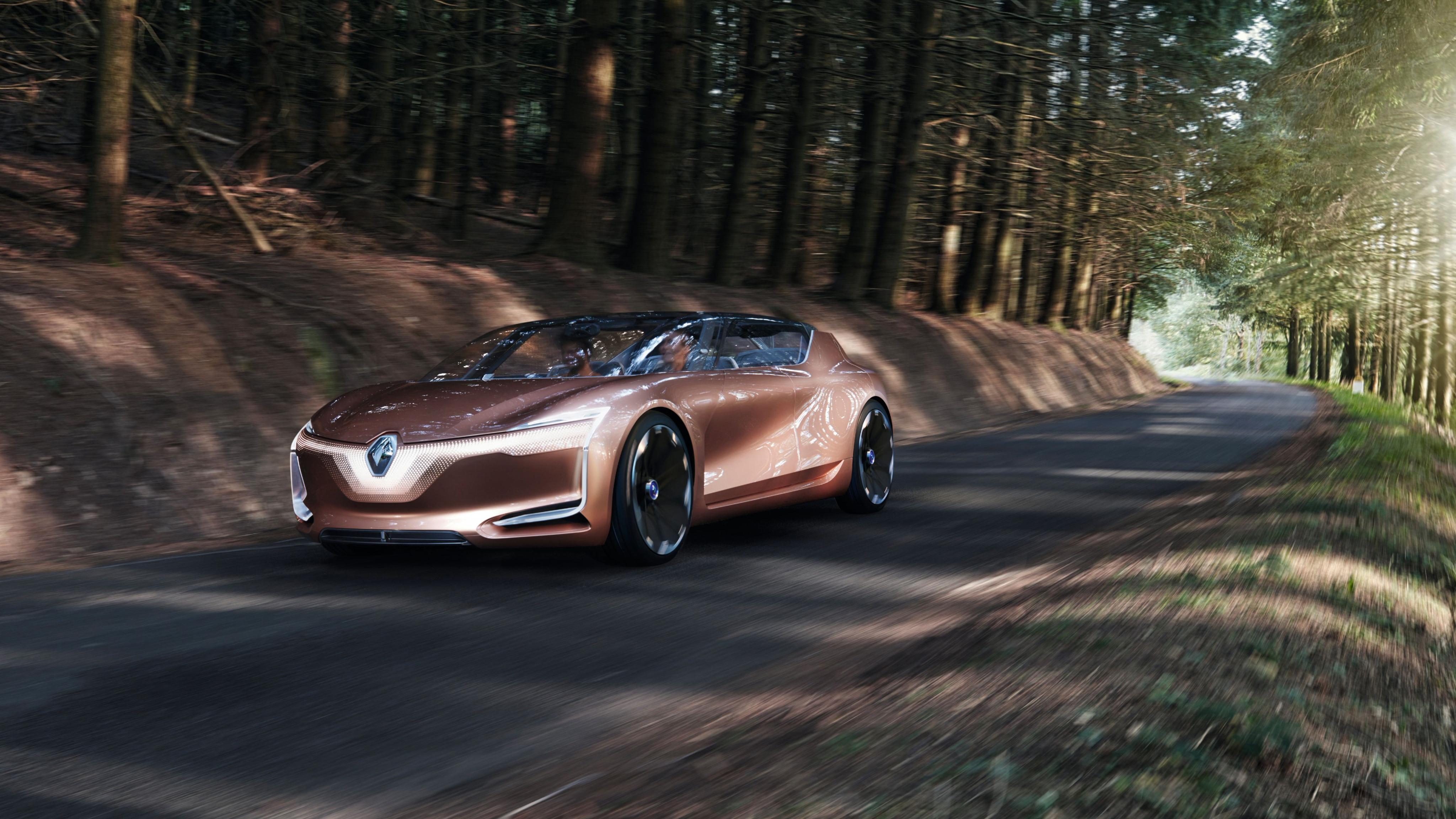 Renault Symbioz Self Driving Electric Car 4k Wallpaper Hd Car Wallpapers Id 8488