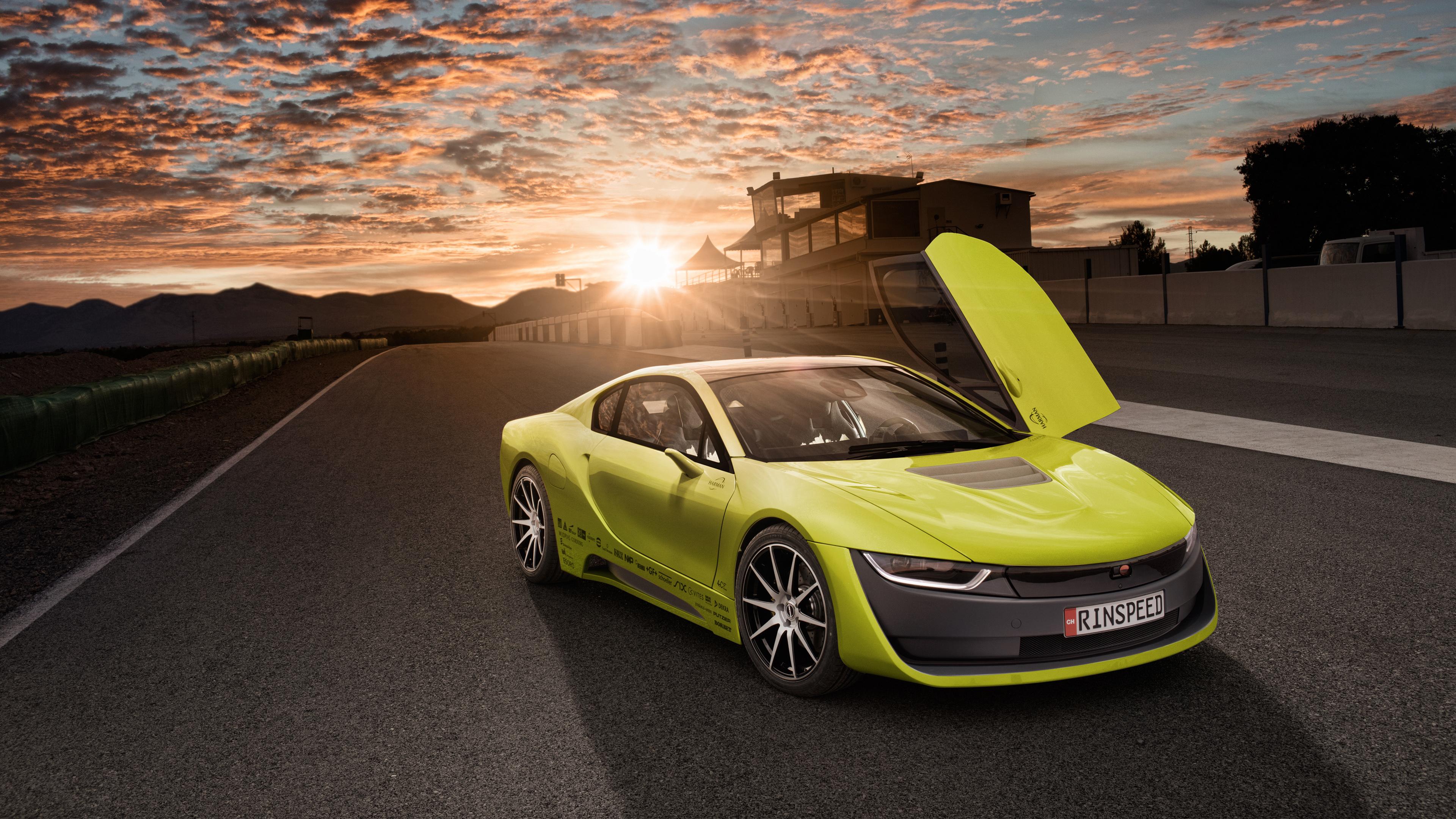 Rinspeed Etos Concept BMW I8 Self Driving Car Wallpaper