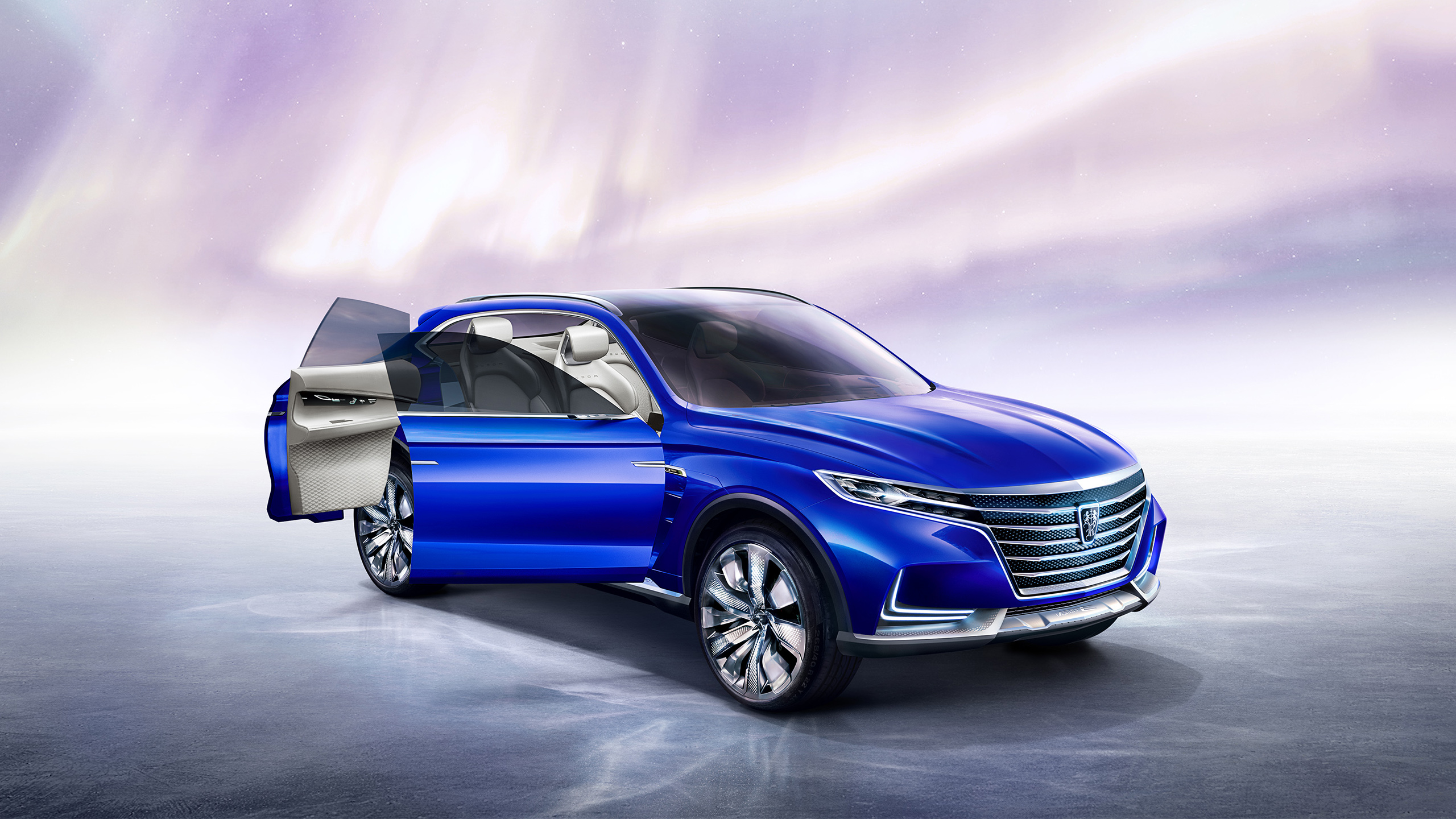 Roewe Vision E Concept Electric SUV Wallpaper