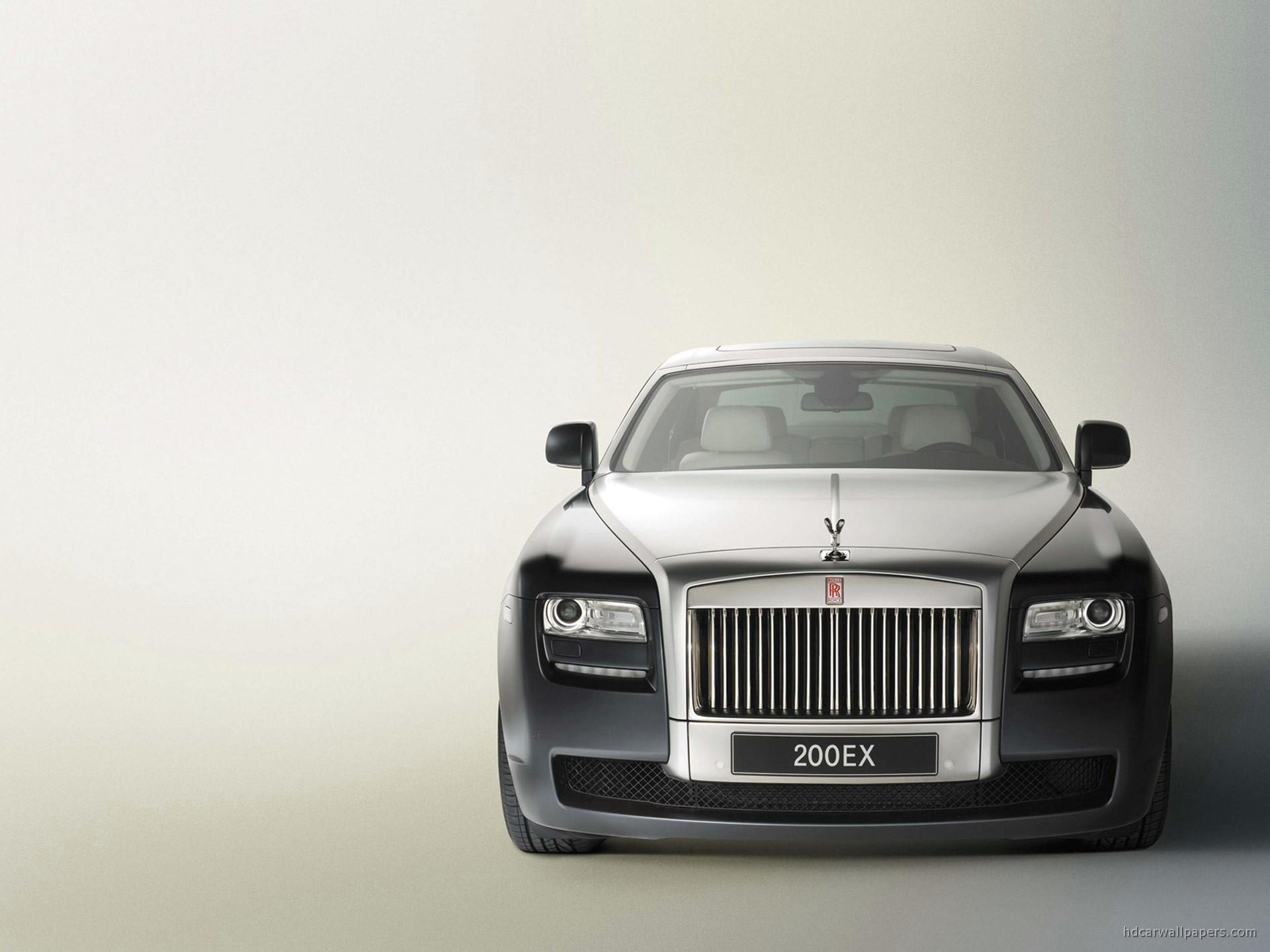 Rolls Royce Ex Front