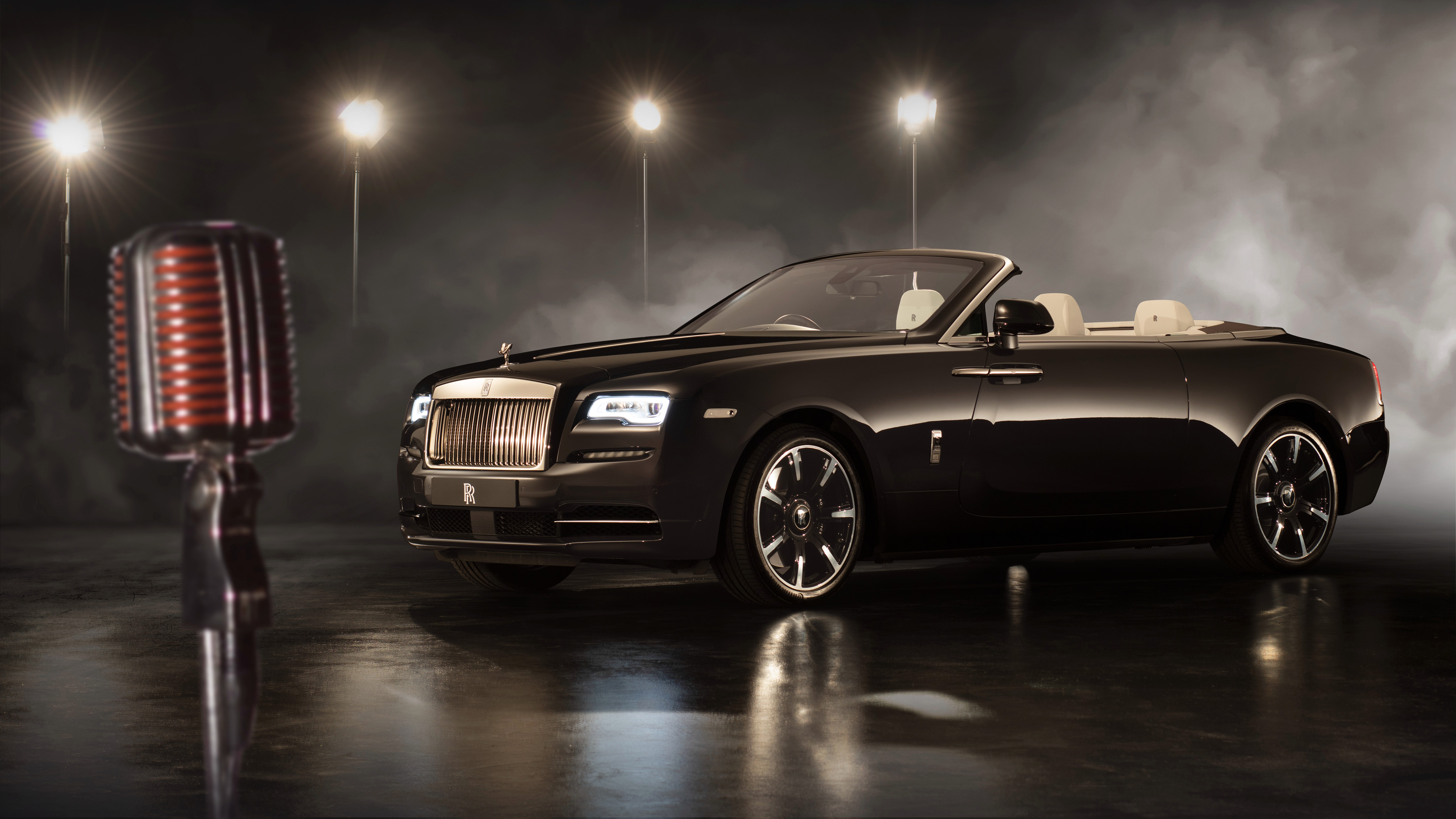 Rolls Royce Dawn Inspired By Music 2018 4k Wallpaper Hd