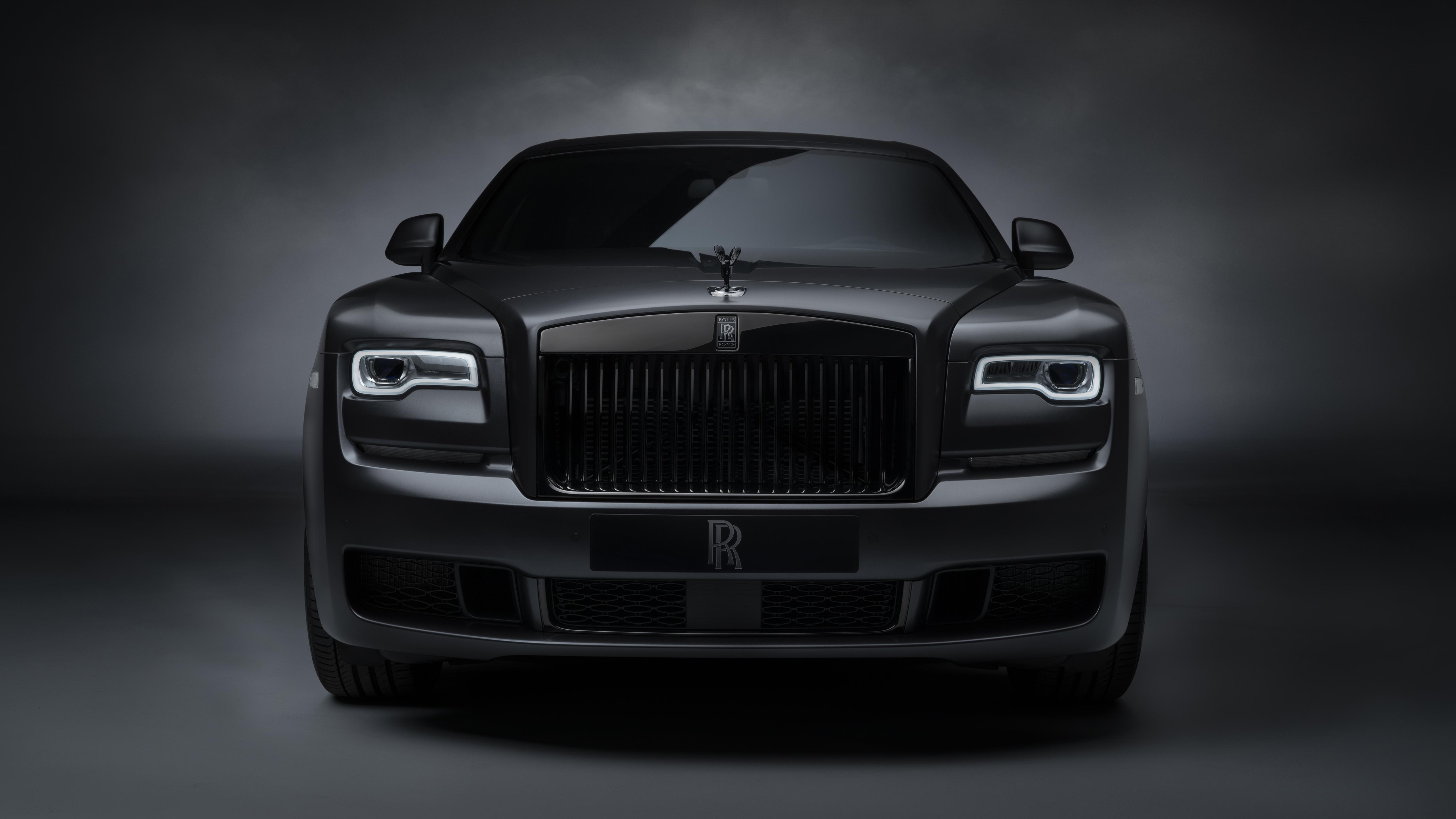 Rolls Royce Ghost Black Badge 2019 5k 2 Wallpaper Hd Car