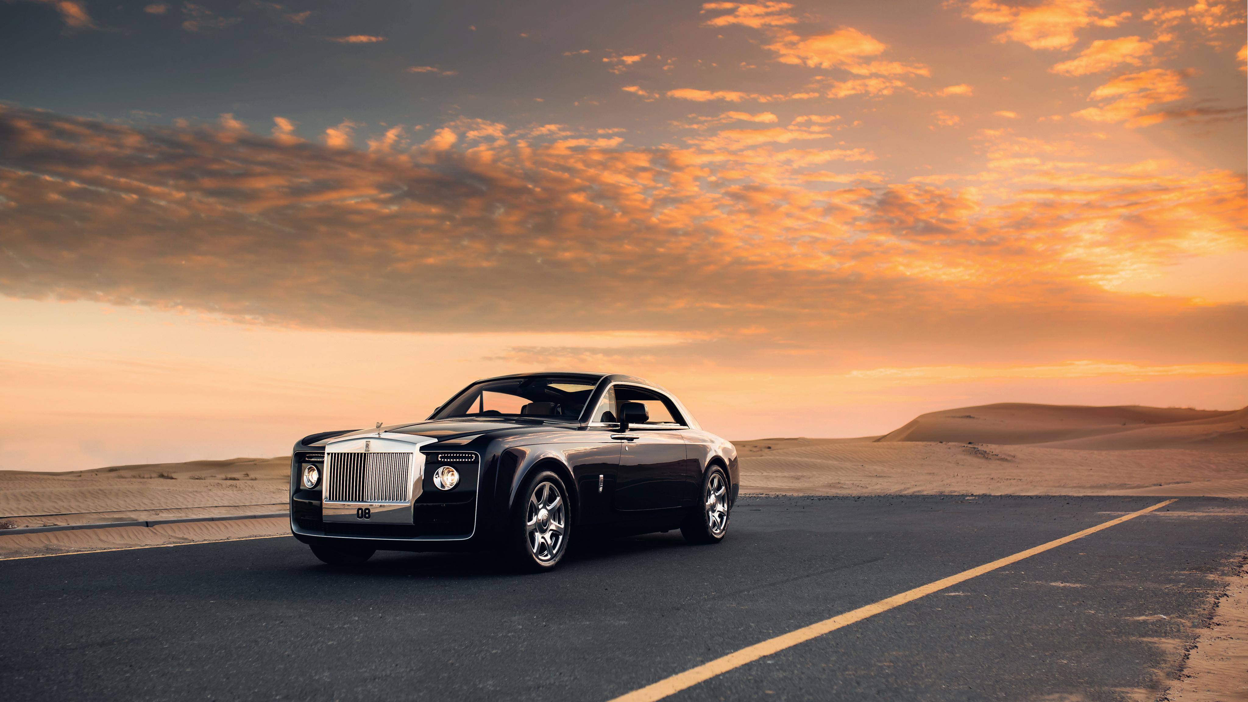 Rolls Royce Sweptail 4K 2 Wallpaper