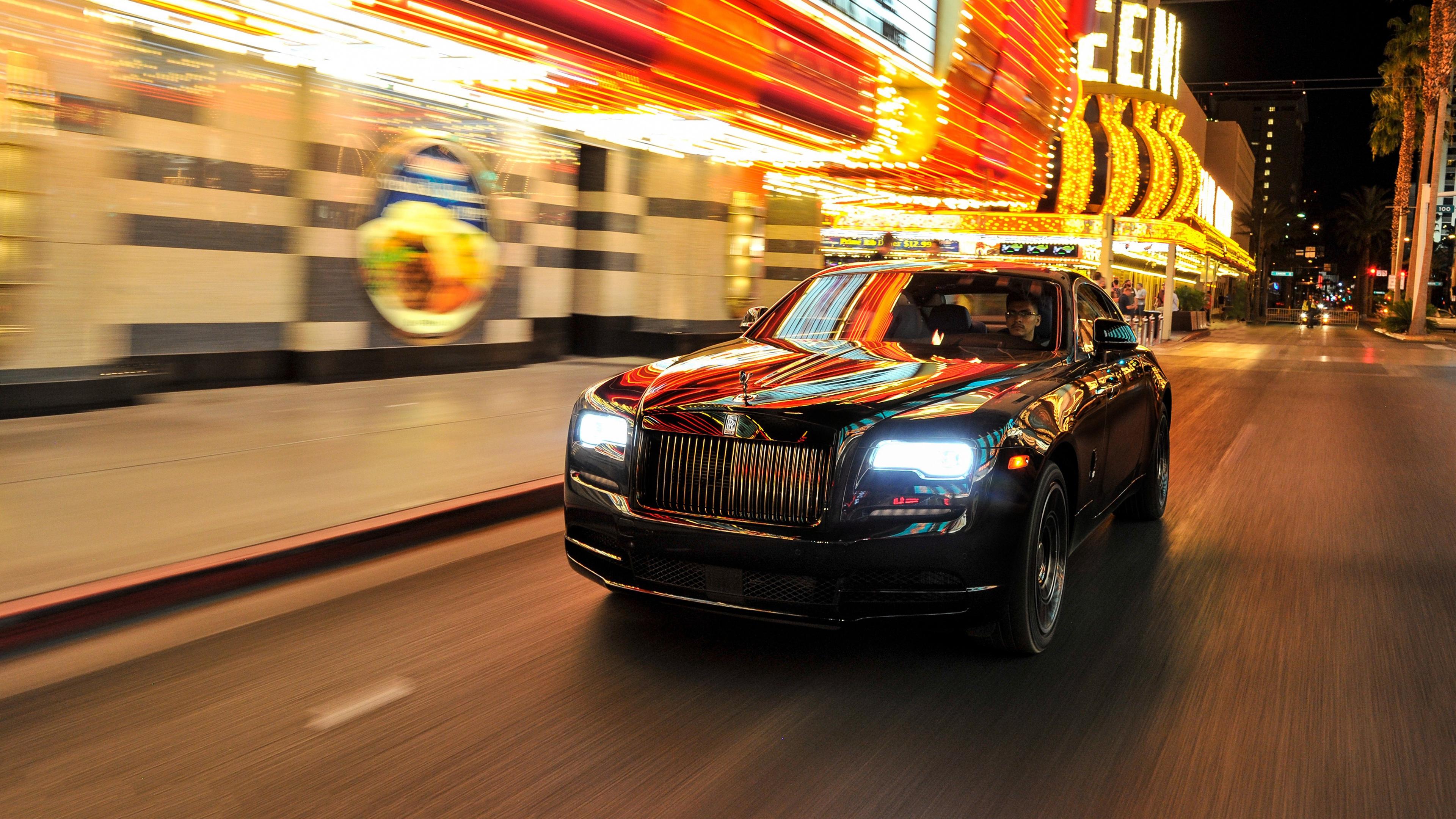 Rolls Royce Wraith Black Badge 4K 2017 Wallpaper | HD Car ...