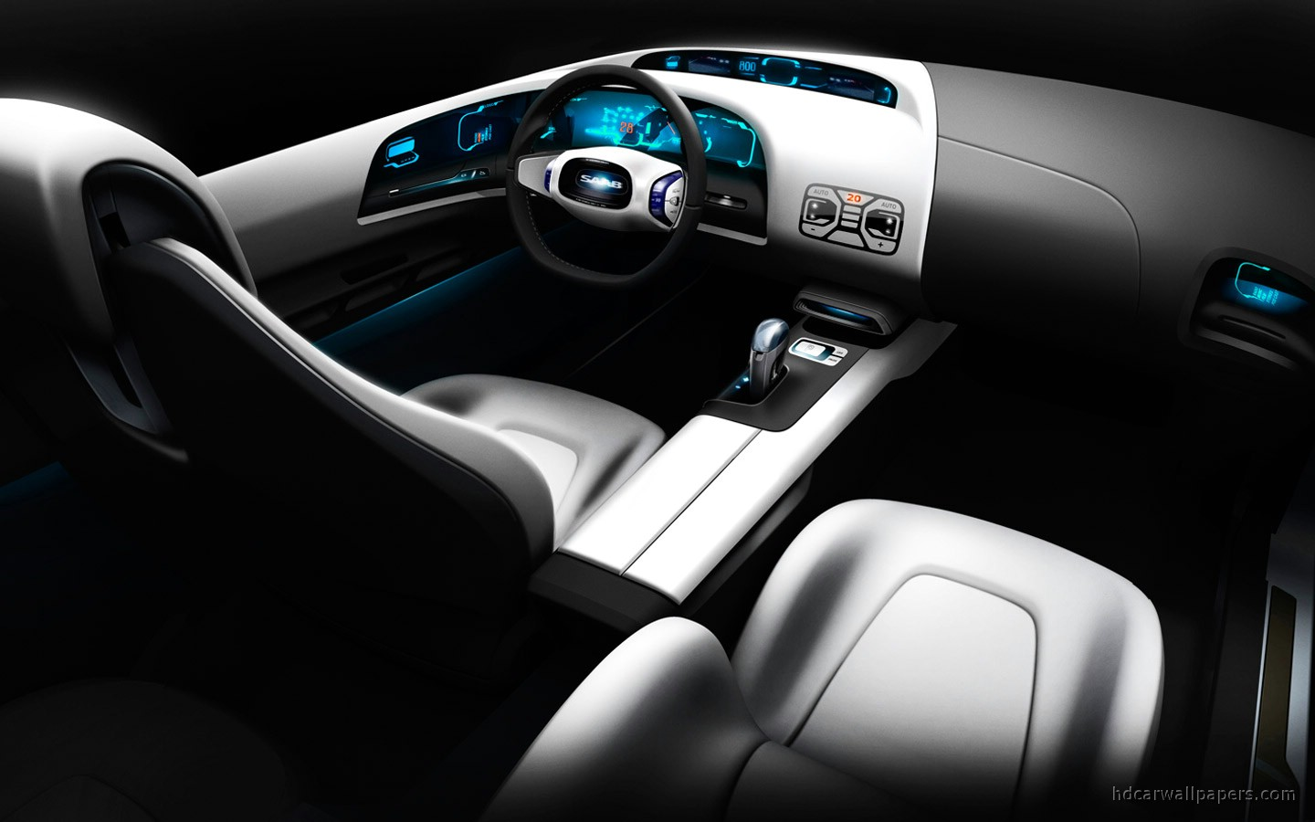 Phoenix Nissan Saab Biohybrid Interior Wallpaper | HD Car Wallpapers