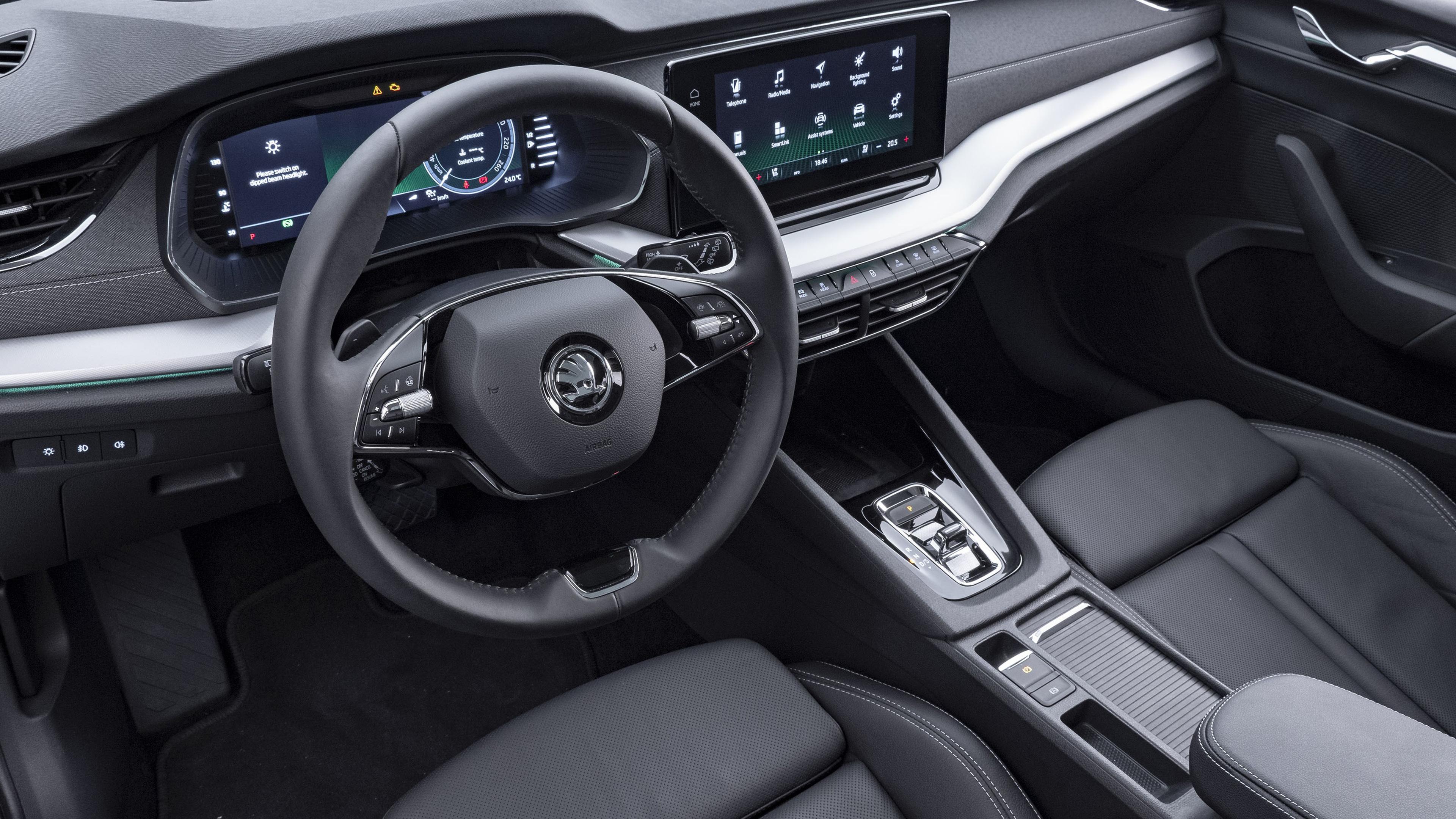 Skoda Octavia Combi 2020 4K Interior Wallpaper | HD Car ...
