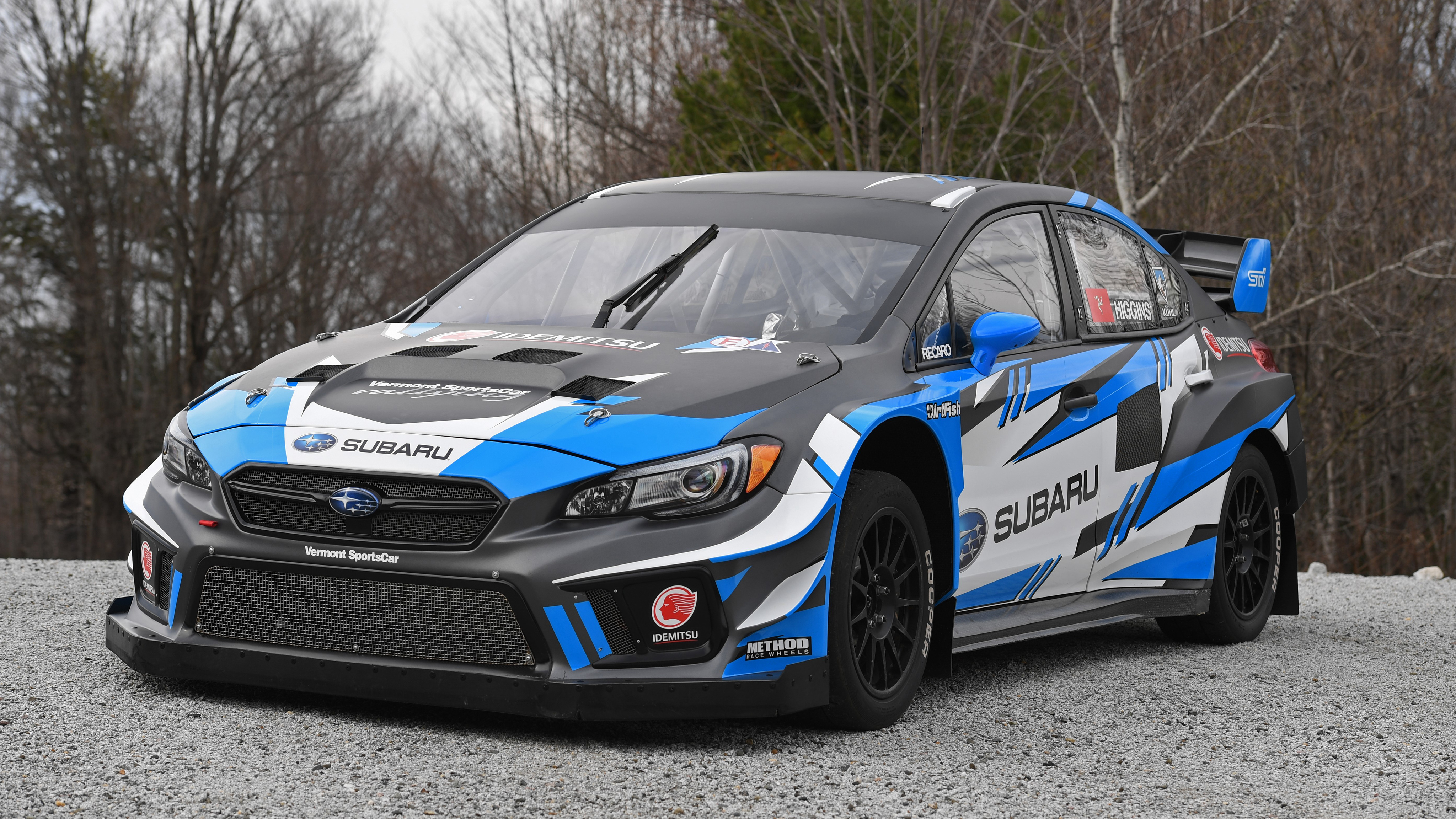 Subaru WRX STI Rallycross 2018 4K