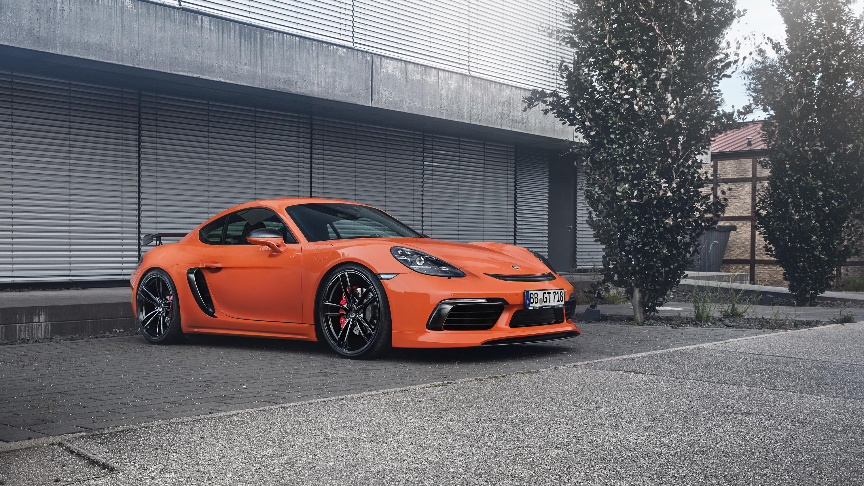 Techart Porsche 718 Cayman Hd Wallpaper Hd Car Wallpapers Id 8117
