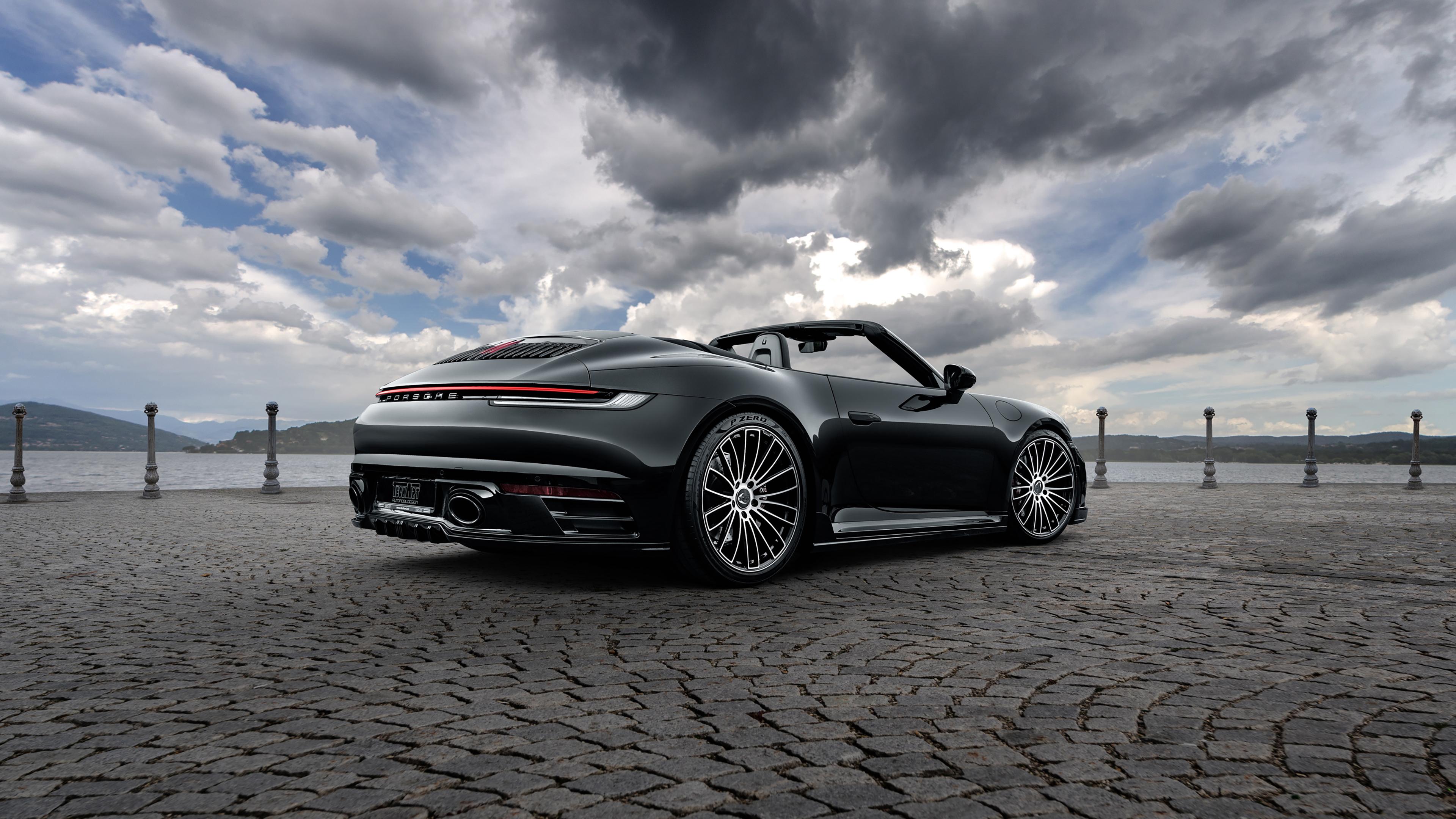 TechArt Porsche 911 Carrera 4S Cabriolet 2020 4K Wallpaper ...