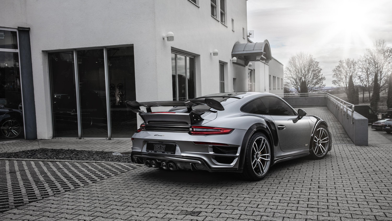 Techart Porsche 911 Turbo GT Street R 2017 2 Wallpaper ...