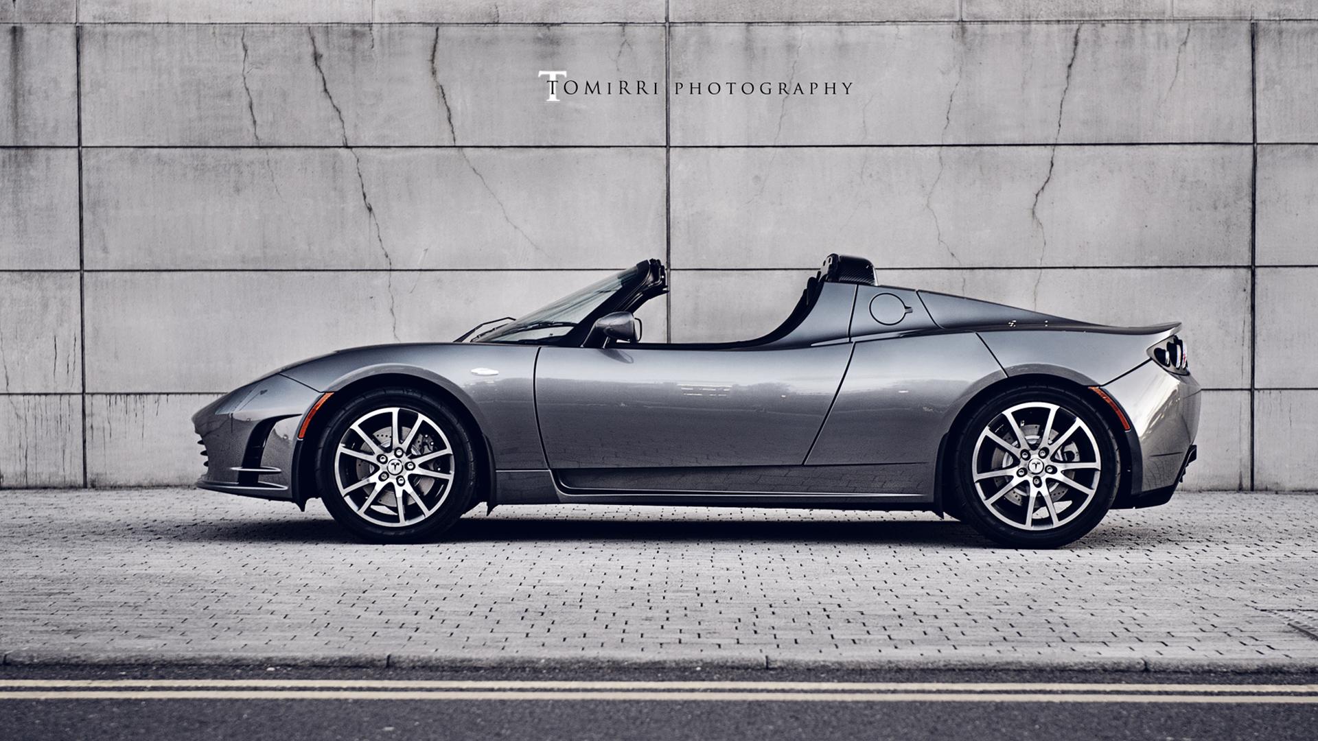 Tesla Roadster Wallpaper Hd Car Wallpapers Id 2539
