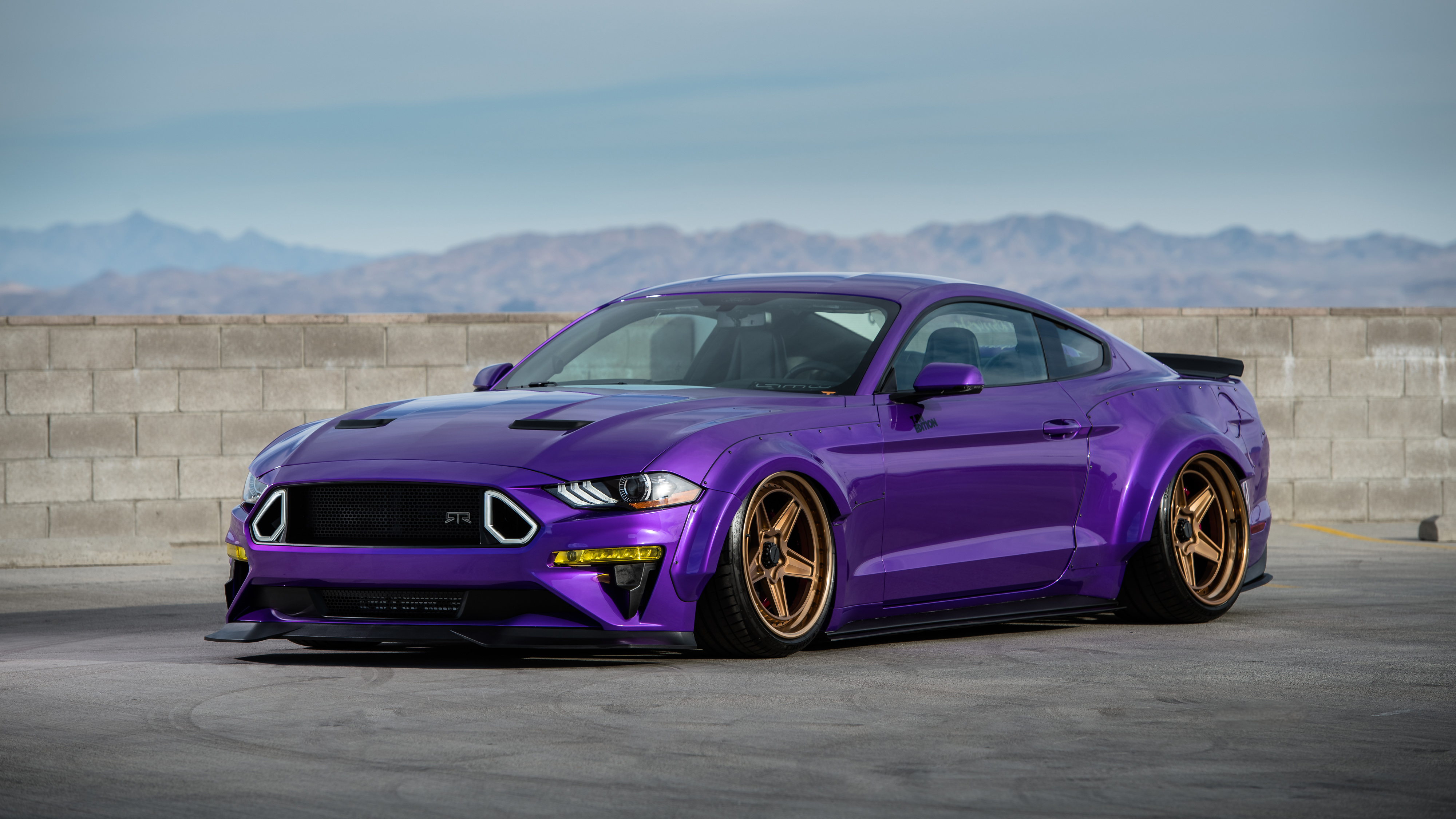 TJIN Edition Ford Mustang EcoBoost 2018 4K Wallpaper | HD ...
