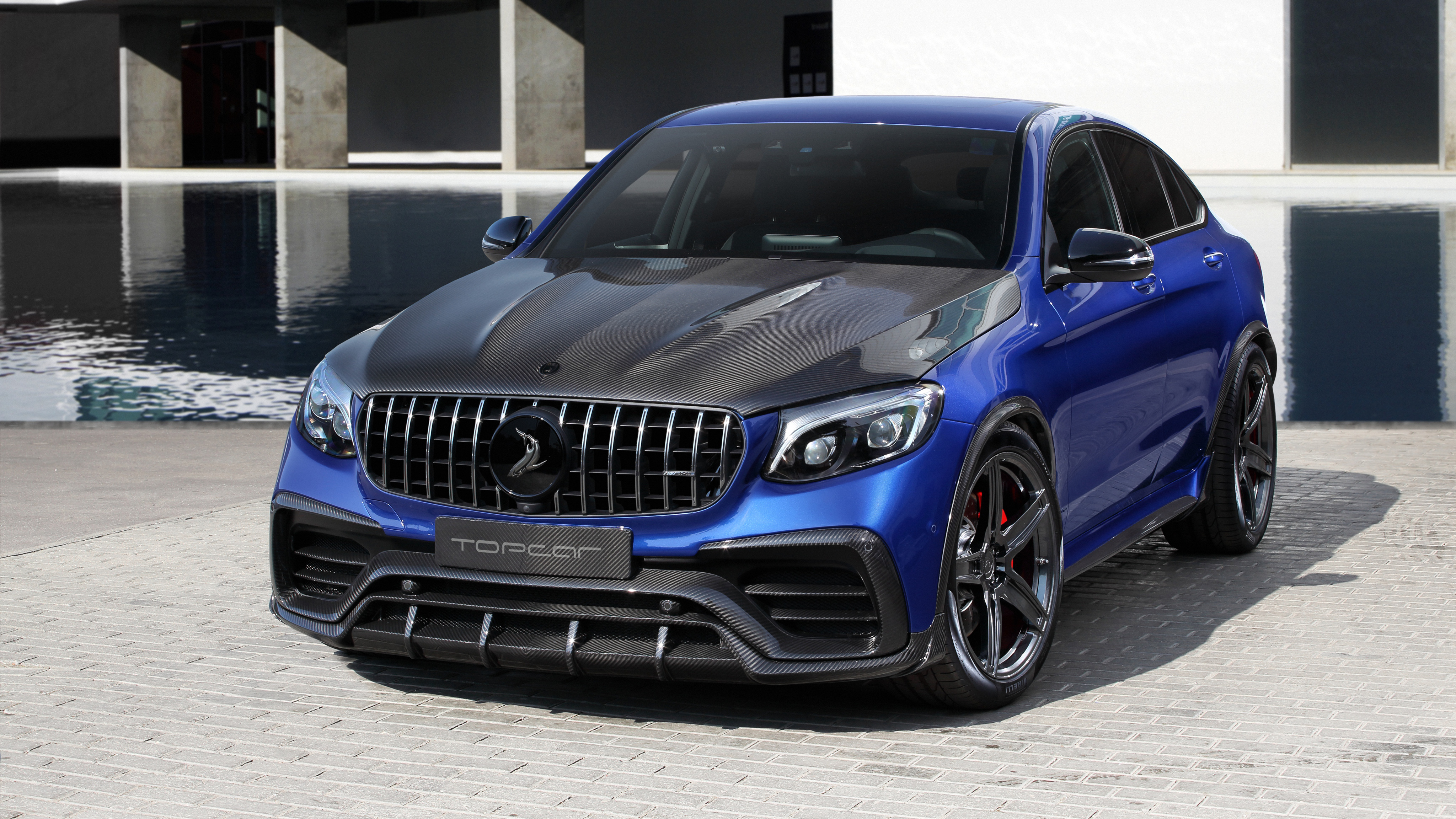 Topcar Mercedes Amg Glc Klasse Coupe Inferno 4k Wallpaper Hd Car Wallpapers Id 11265