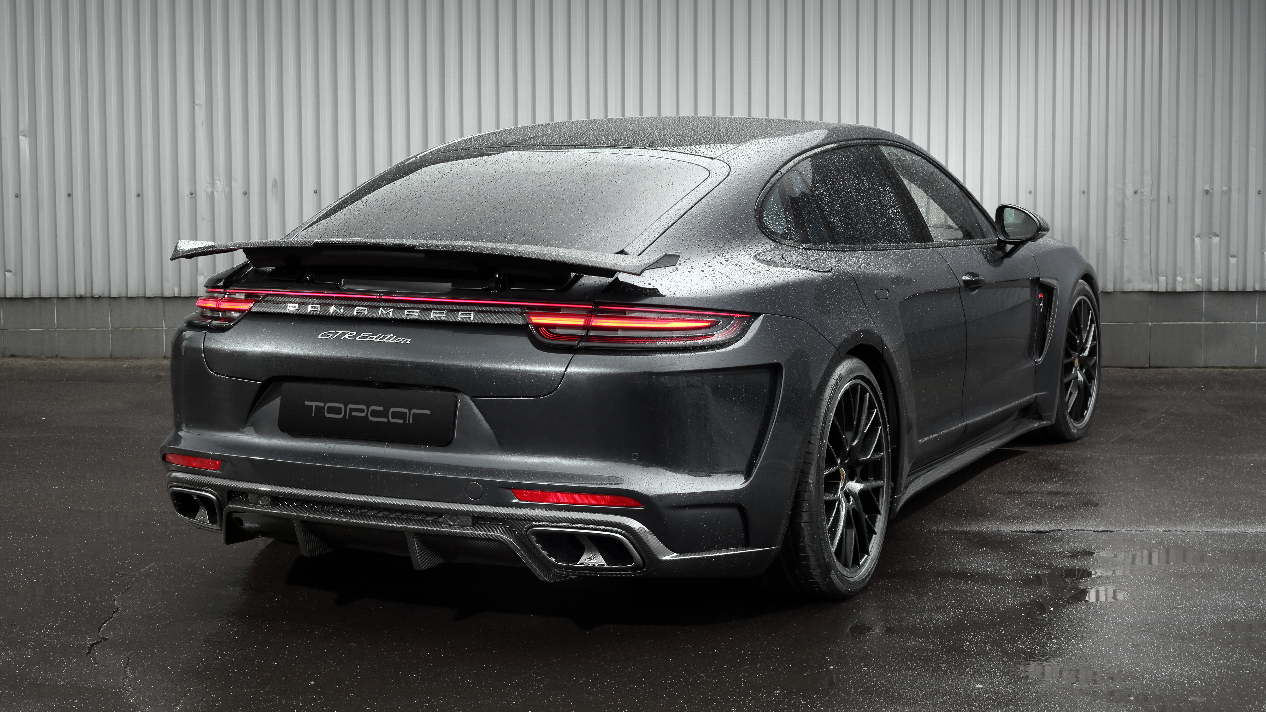 TopCar Porsche Panamera GTR Edition 2019 4K 3 Wallpaper ...